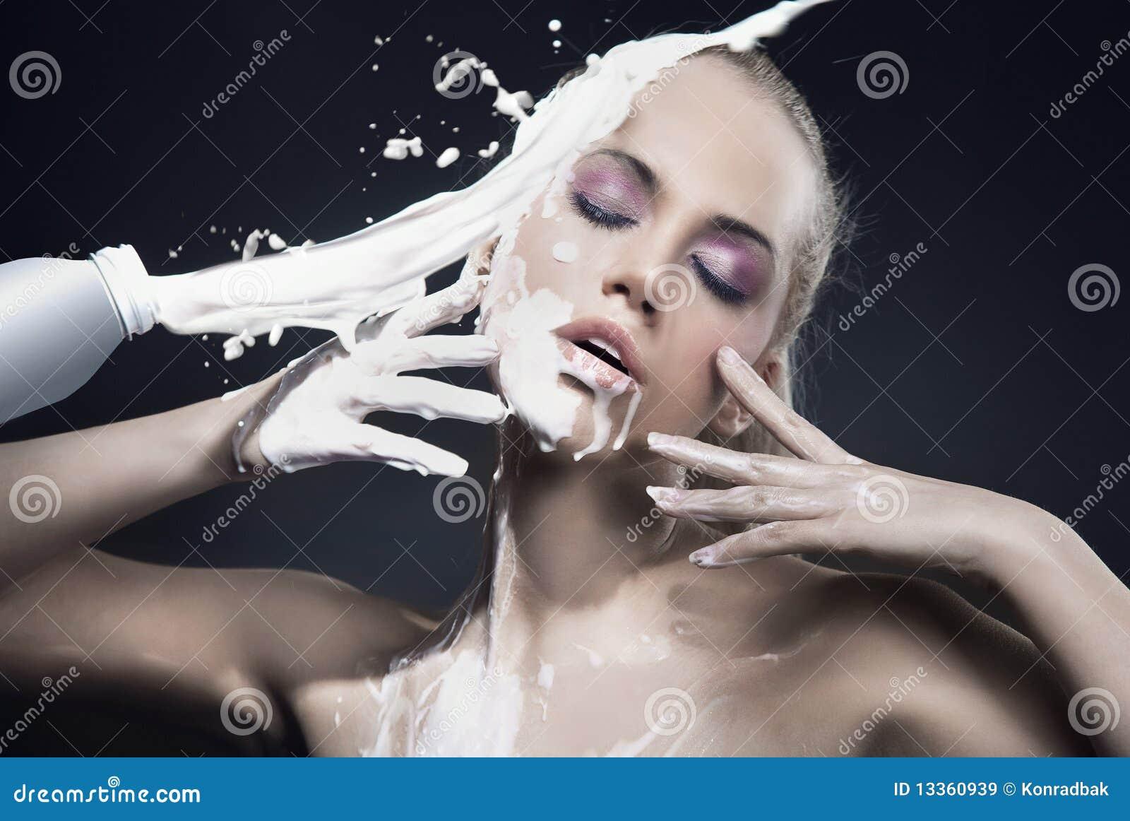 γυναίκα γάλακτος