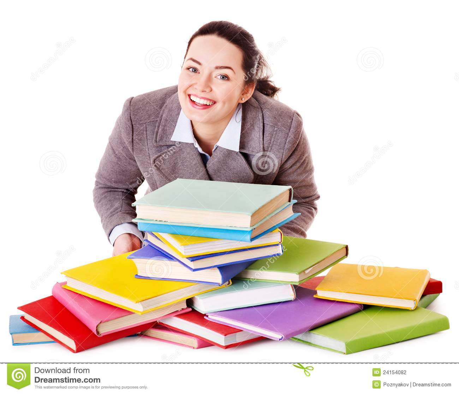 γυναίκα εκμετάλλευσης βιβλίων