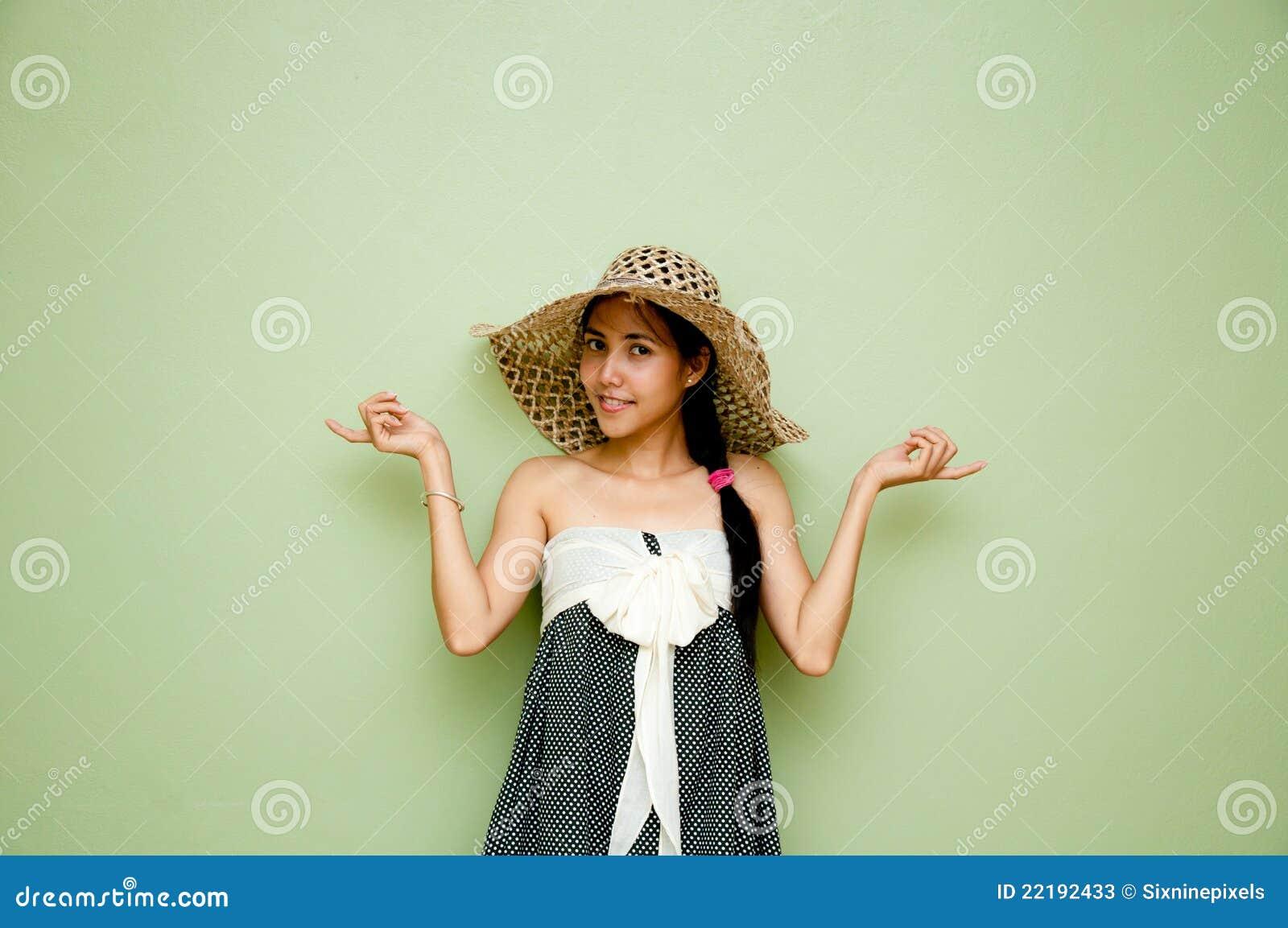 γυναίκα εκμετάλλευσης ενέργειας