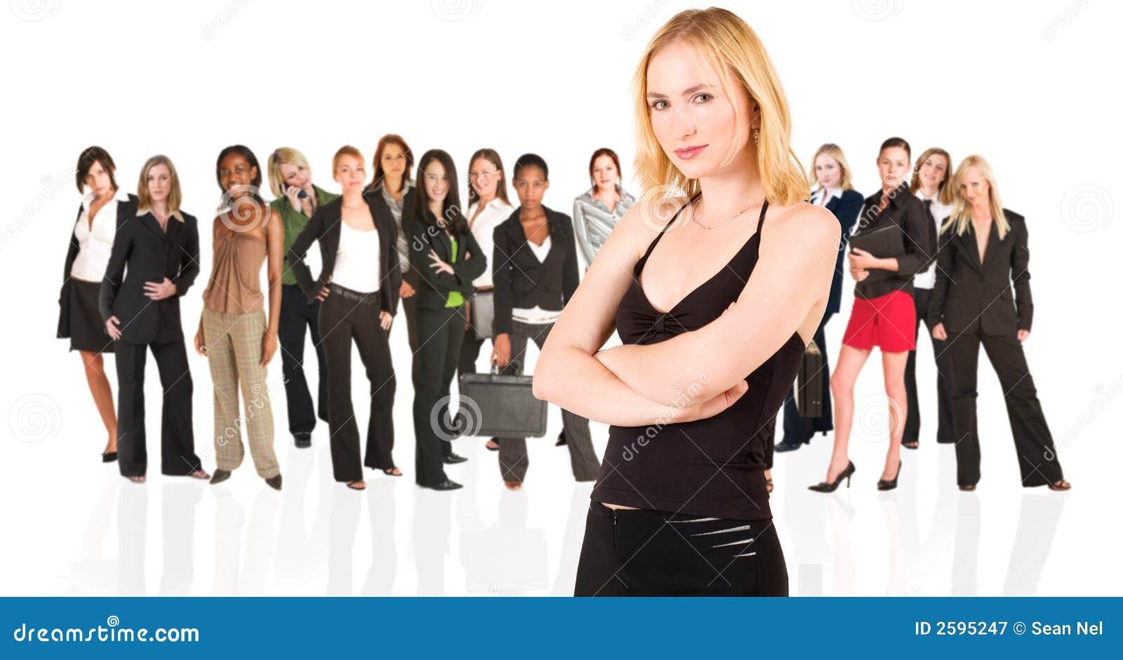 γυναίκα επιχειρηματικών &mu