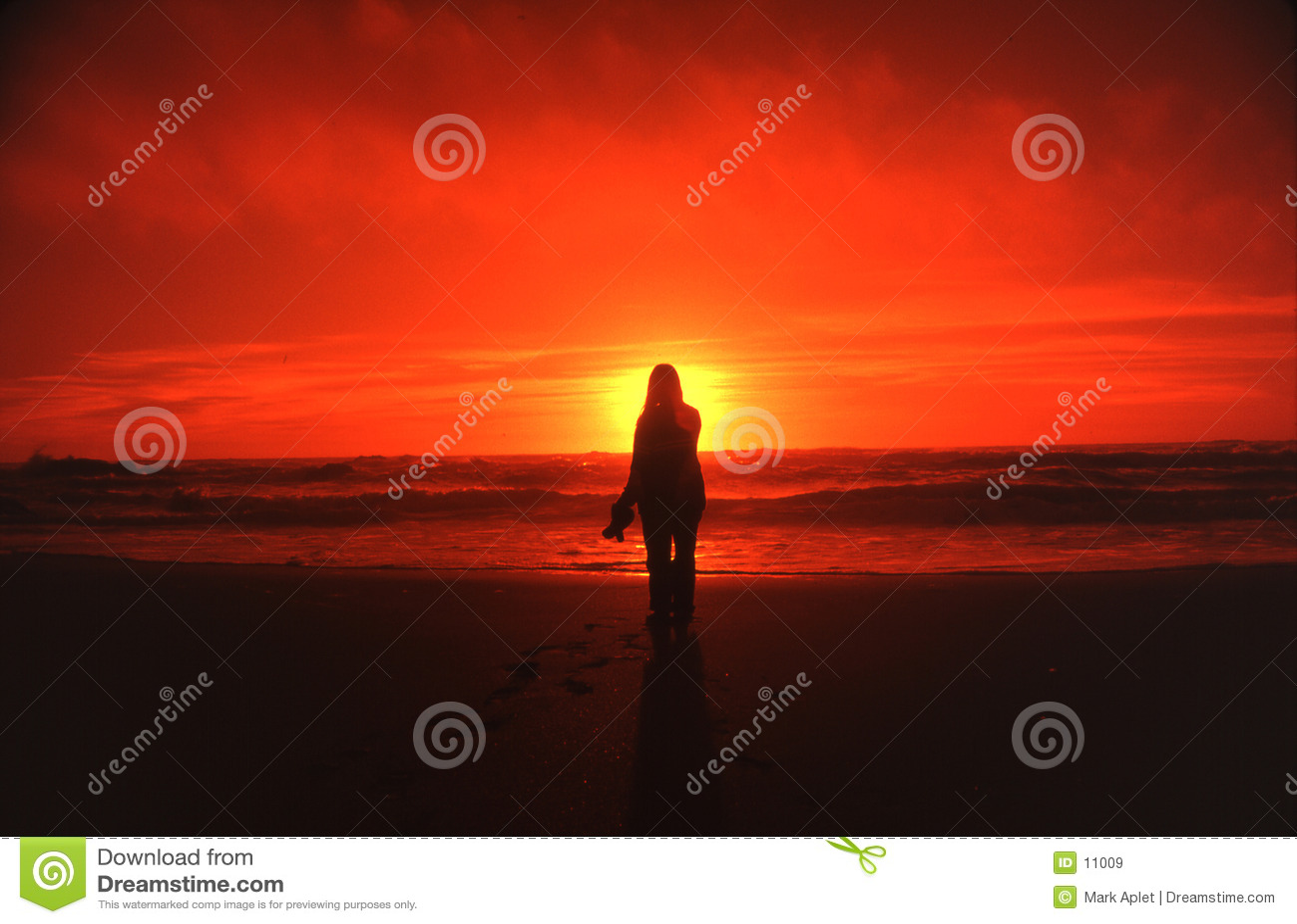 γυναίκα ηλιοβασιλέματος