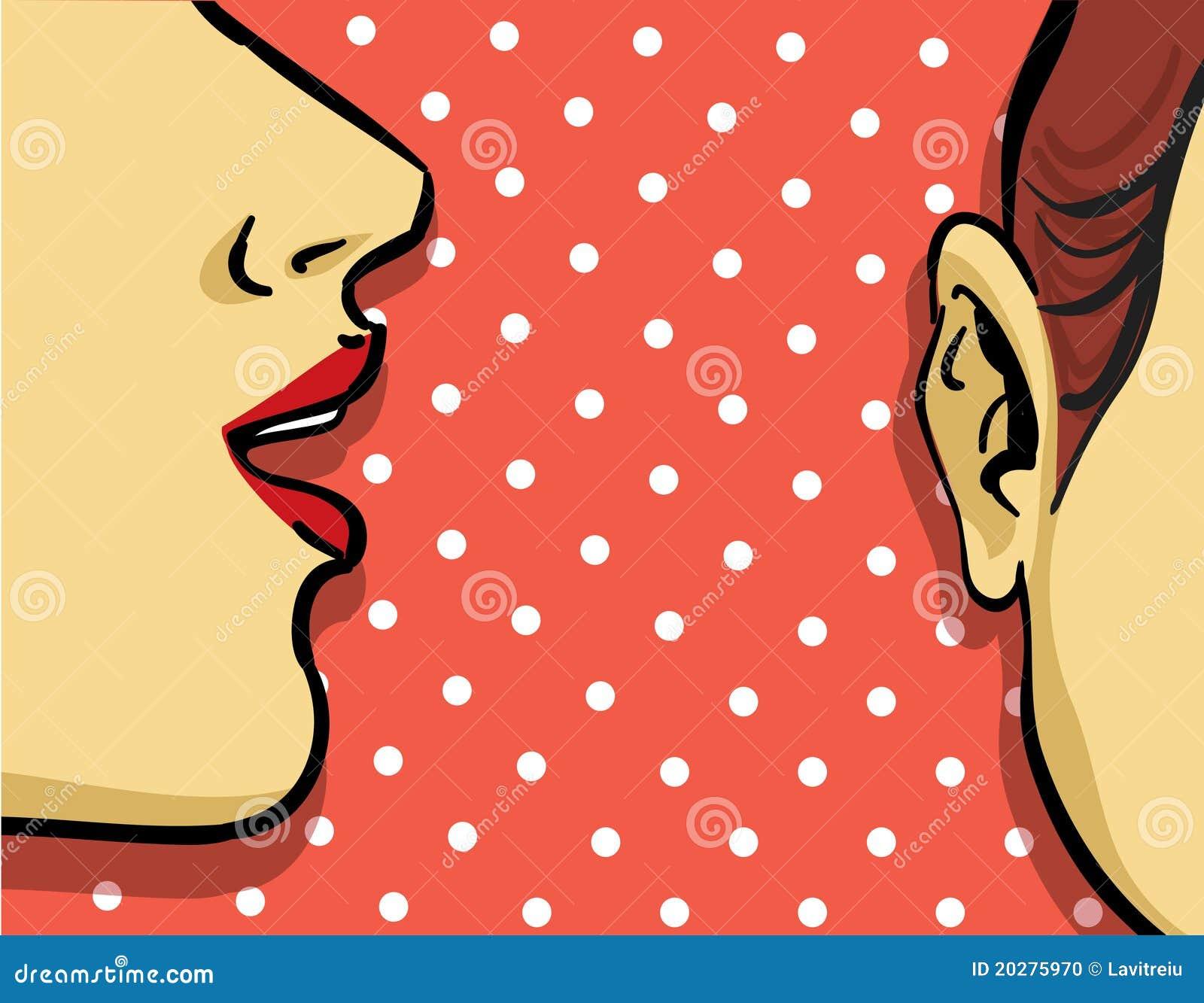 γυναίκα κουτσομπολιού