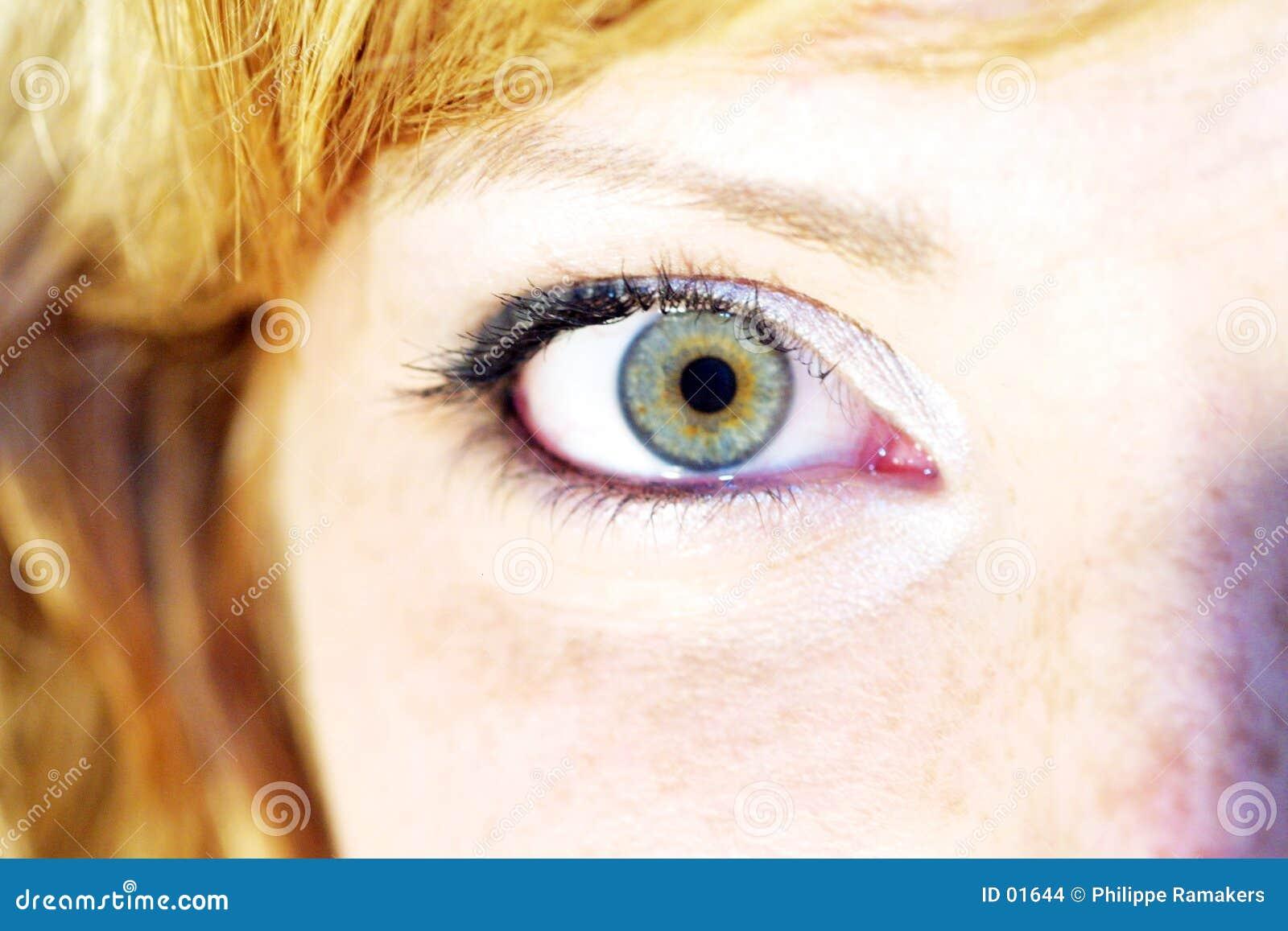 γυναίκα ματιών