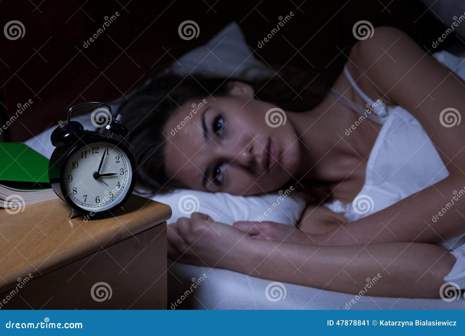 Γυναίκα με την αϋπνία