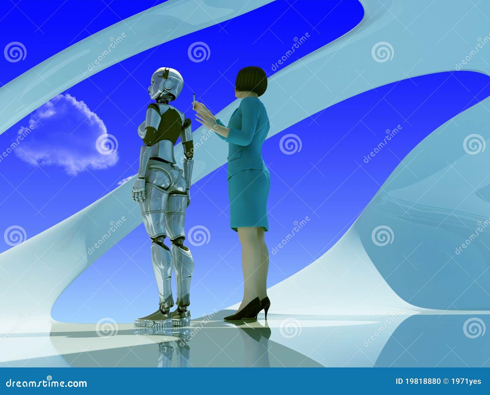 γυναίκα ρομπότ