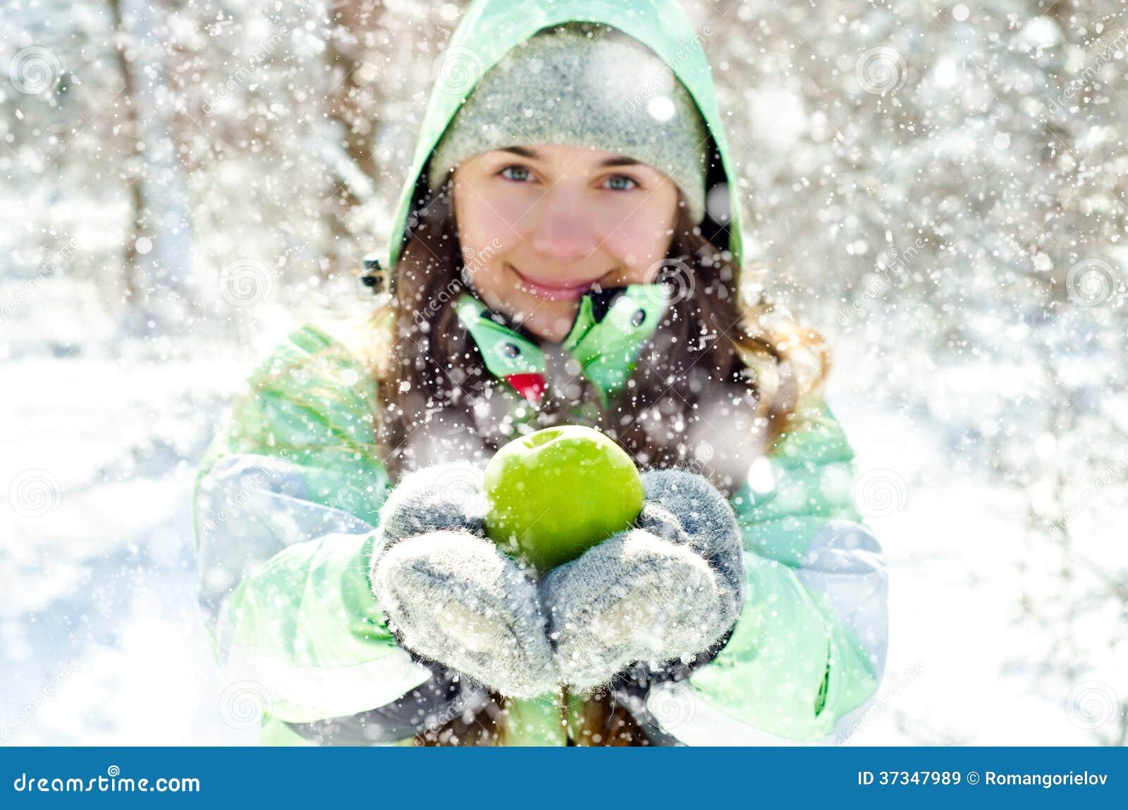 Γυναίκα το χειμώνα