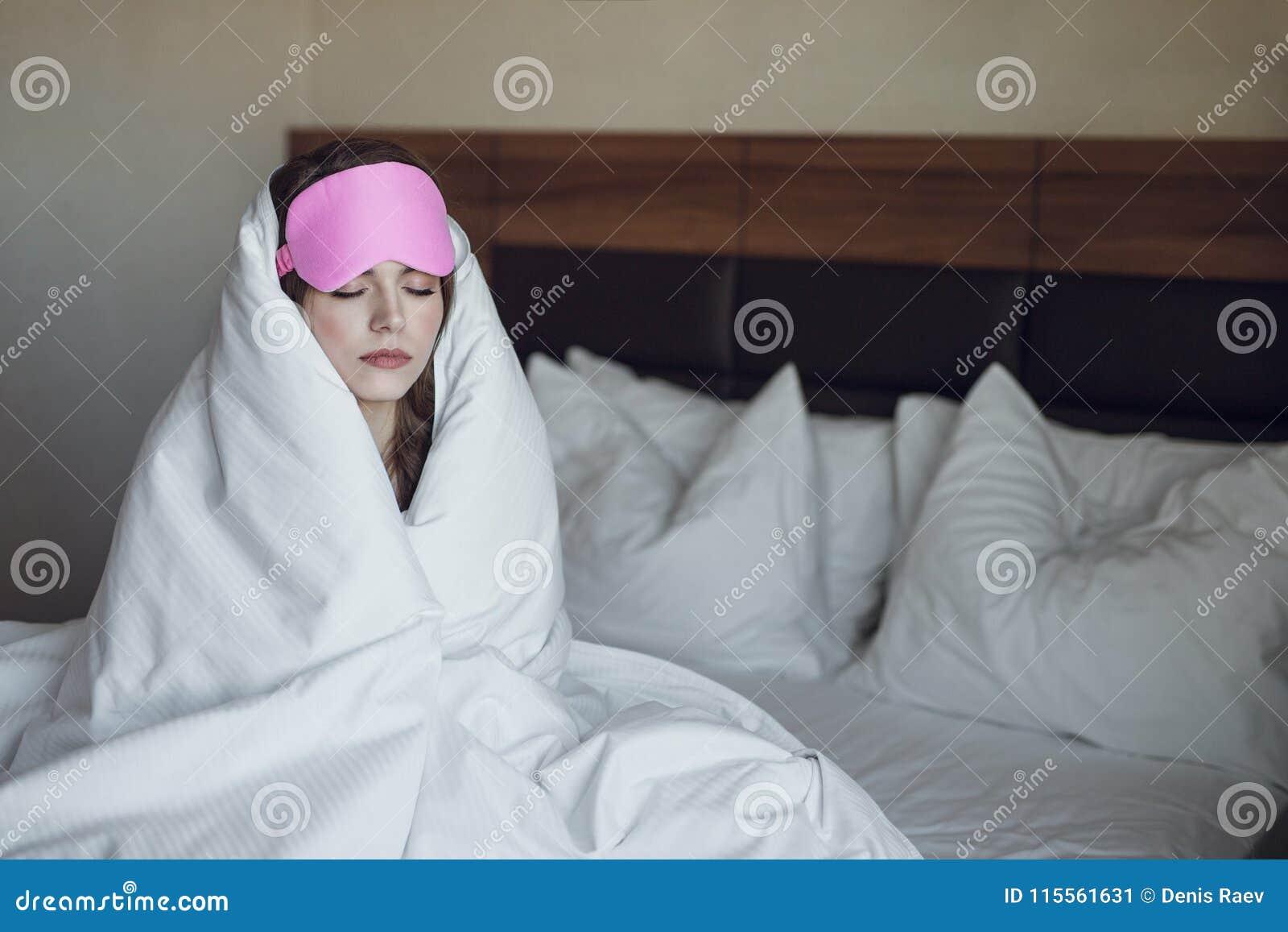 Γυναίκα ύπνου το πρωί