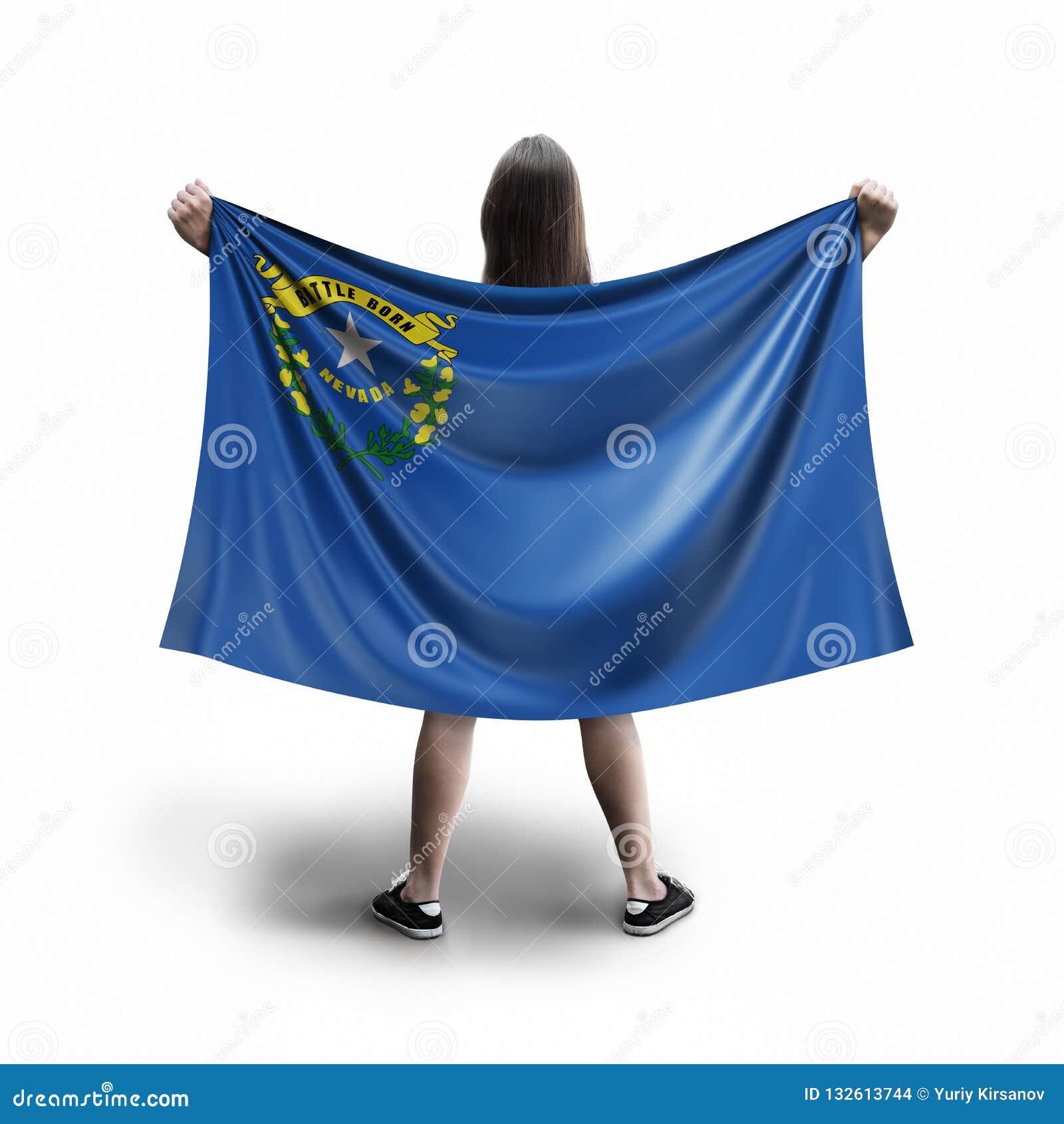 Γυναίκες και σημαία της Νεβάδας