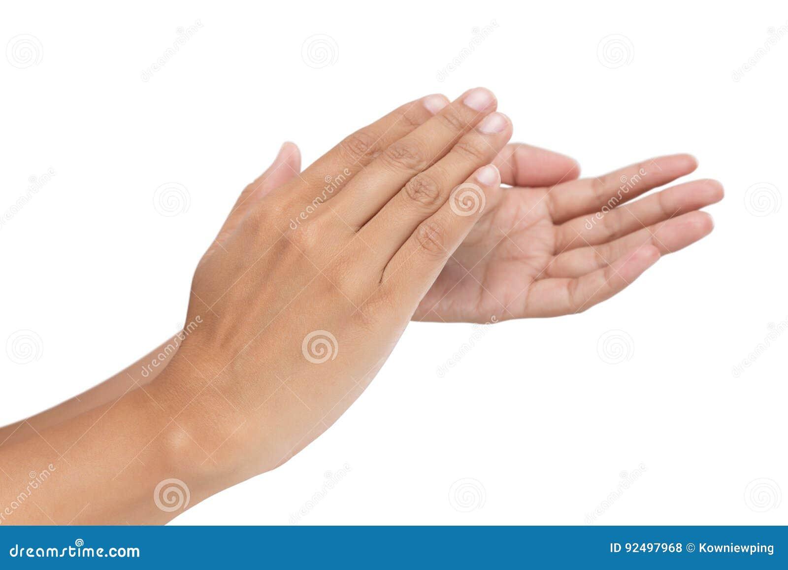 Γυναίκες που χτυπούν τα χέρια