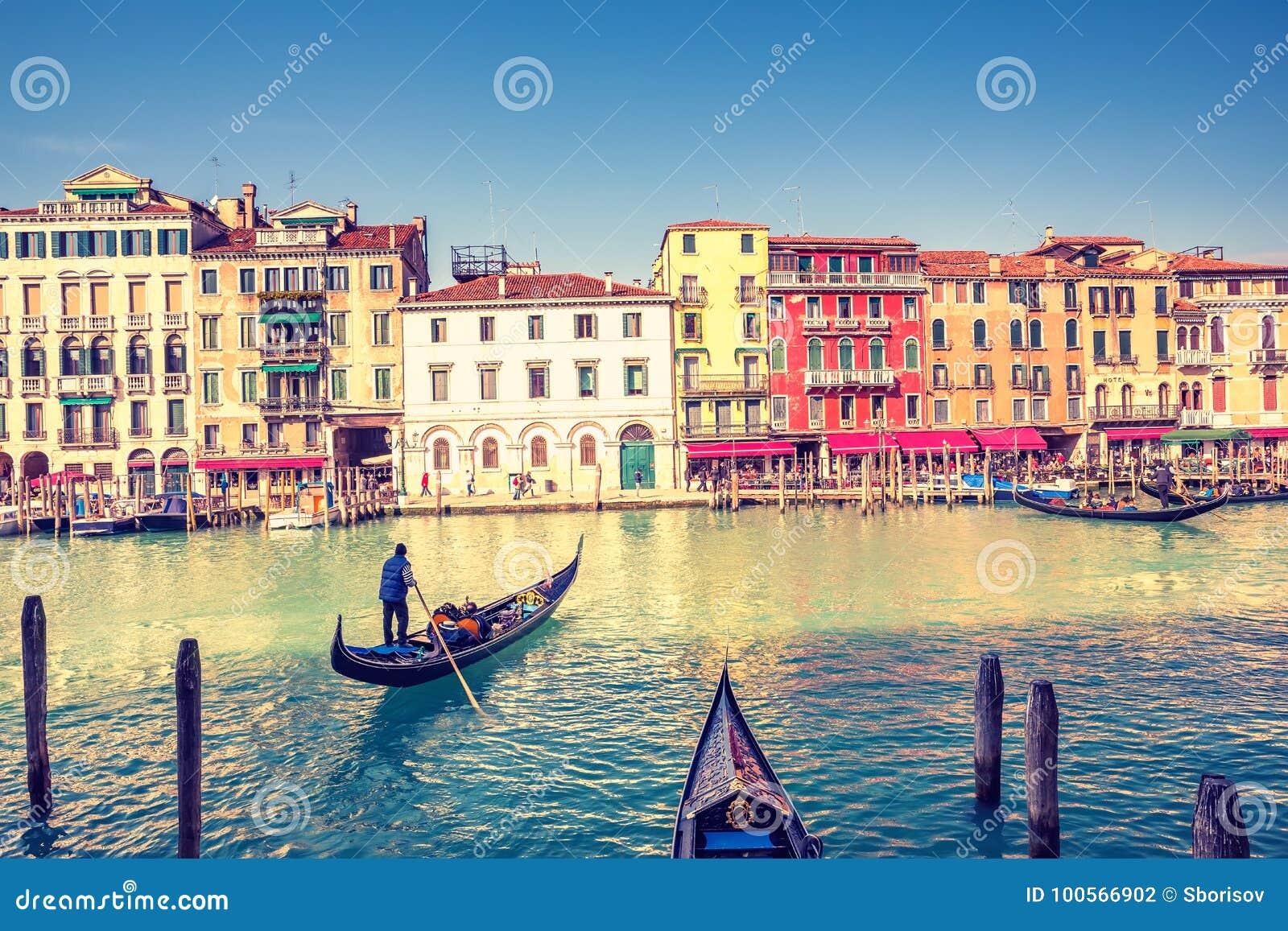 γόνδολα μεγάλη Βενετία κ&