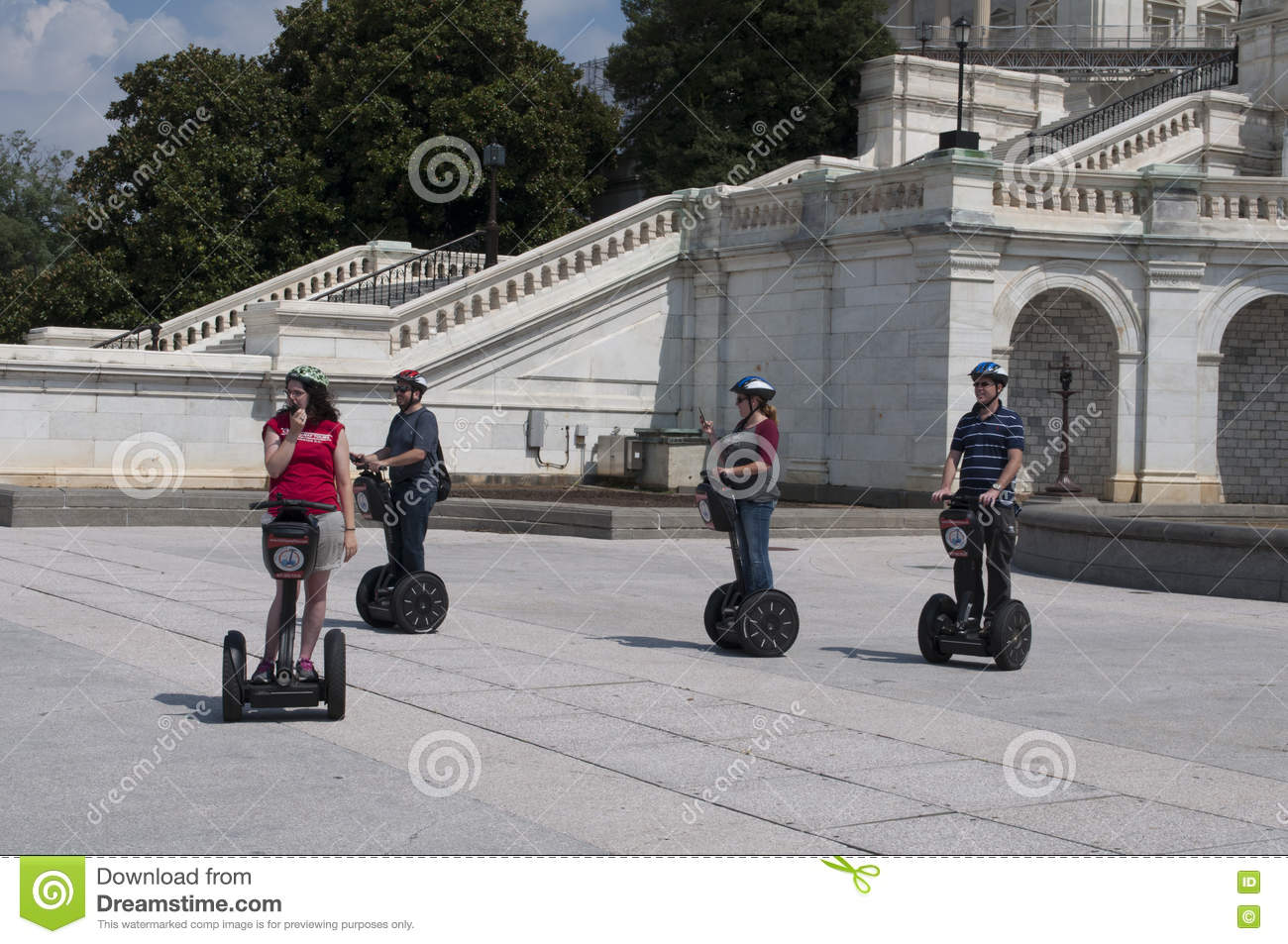 Γύρος του Washington DC Segway