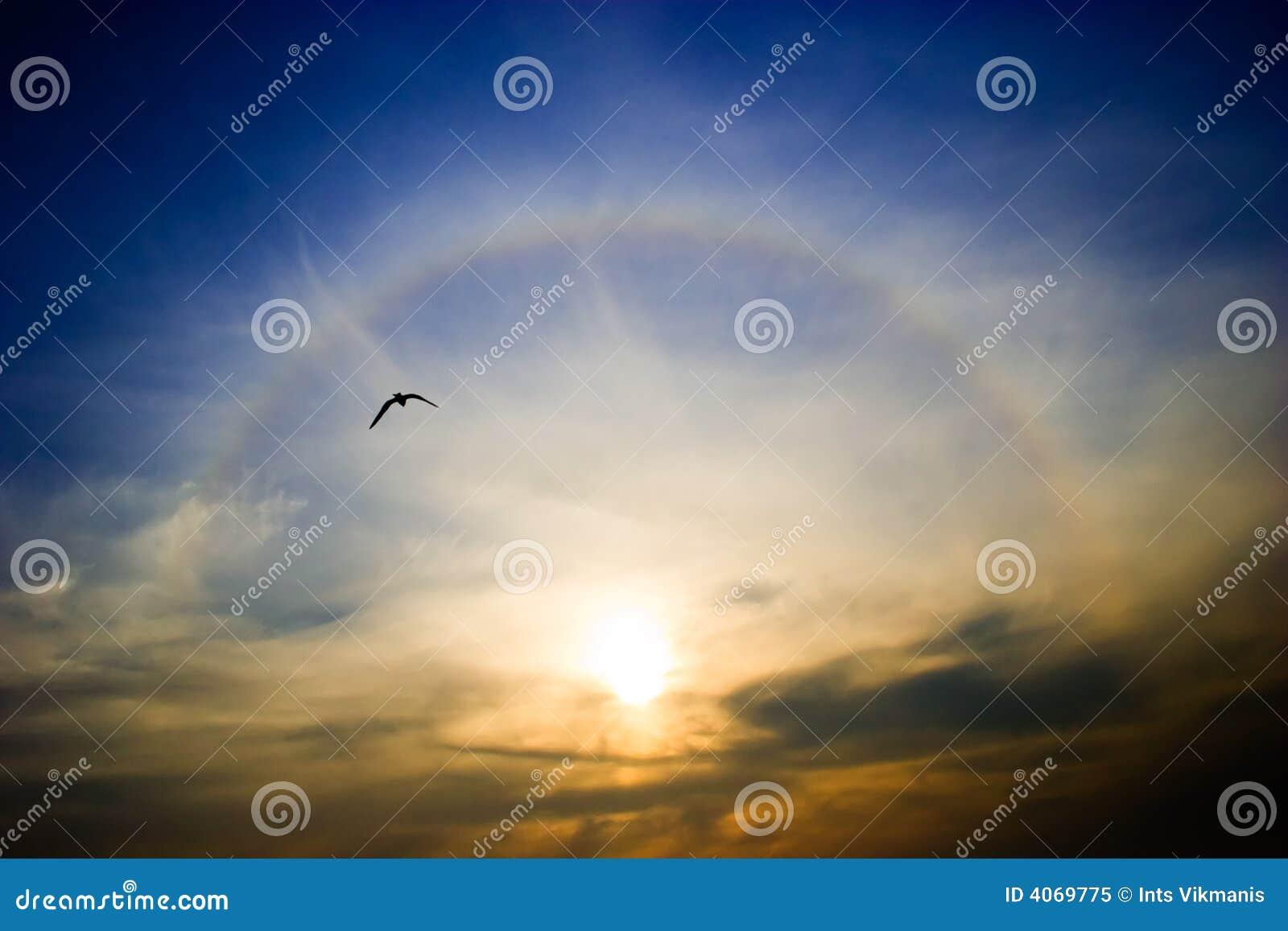 γύρω από τον ήλιο ουράνιων τόξων