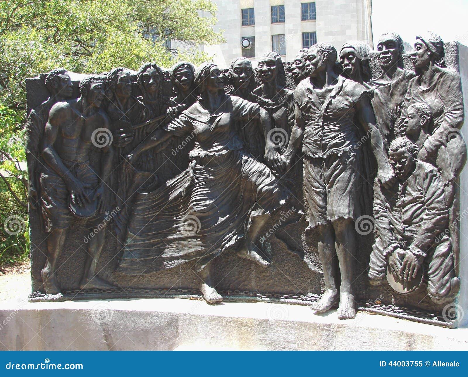 Γλυπτό κληρονομιάς της Νέας Ορλεάνης Congo Square