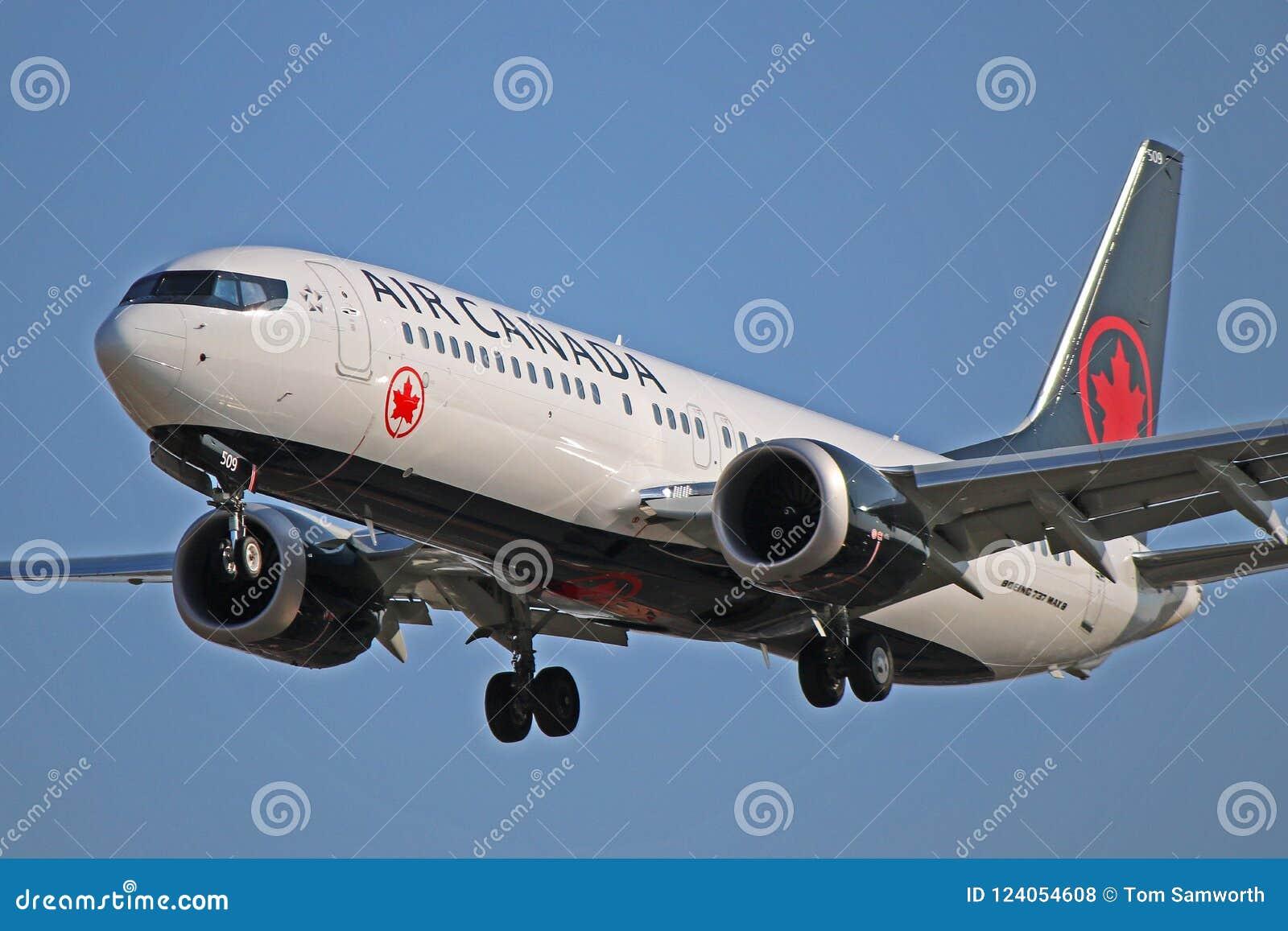 Γ-FSIP: Air Canada Boeing 737 MAX 8 στο Τορόντο PEARSON