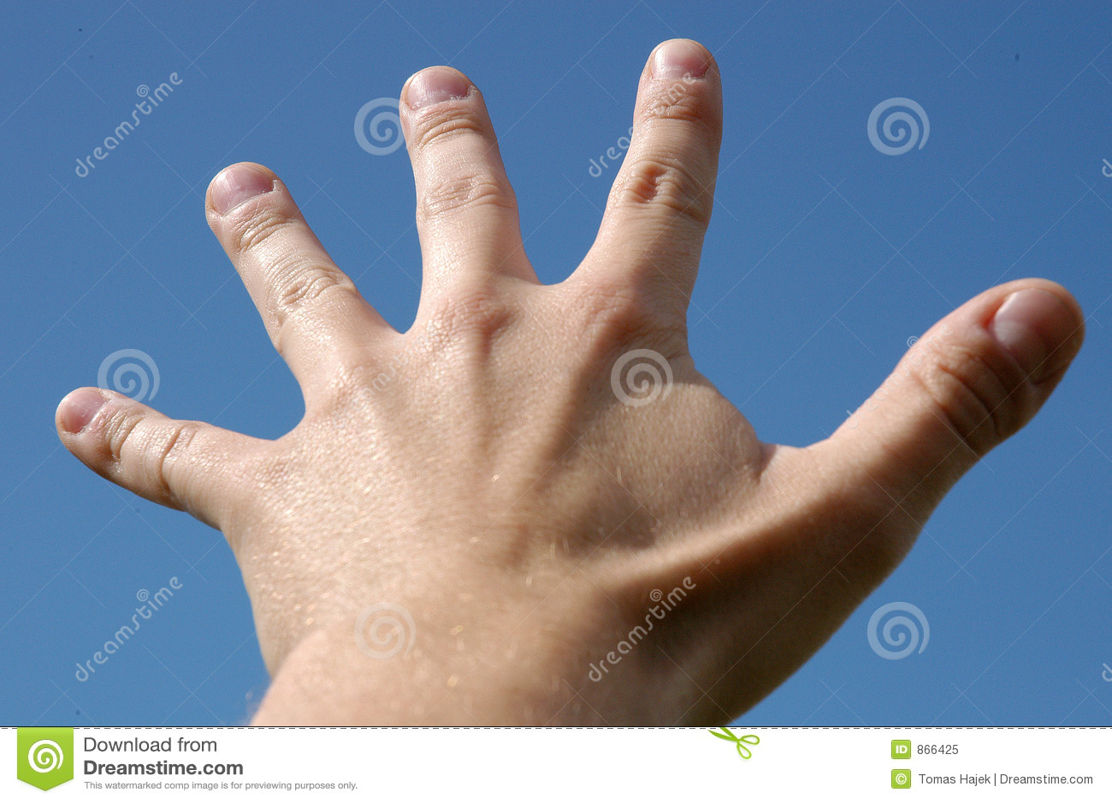 δάχτυλα πέντε