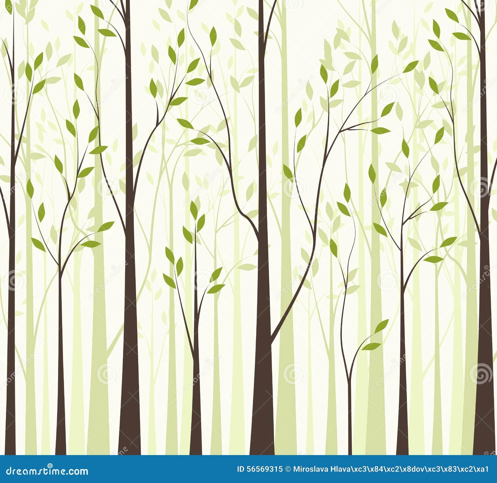 Download Δέντρα 43 διανυσματική απεικόνιση. εικονογραφία από ανασκόπησης - 56569315
