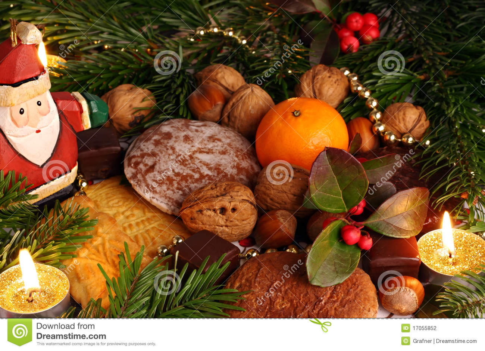 δέντρο γλυκών cristmas κάτω
