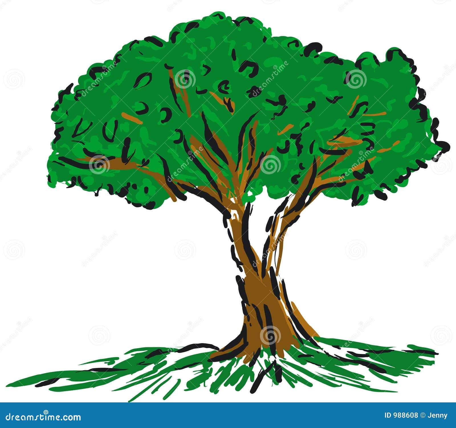 δέντρο κινούμενων σχεδίων