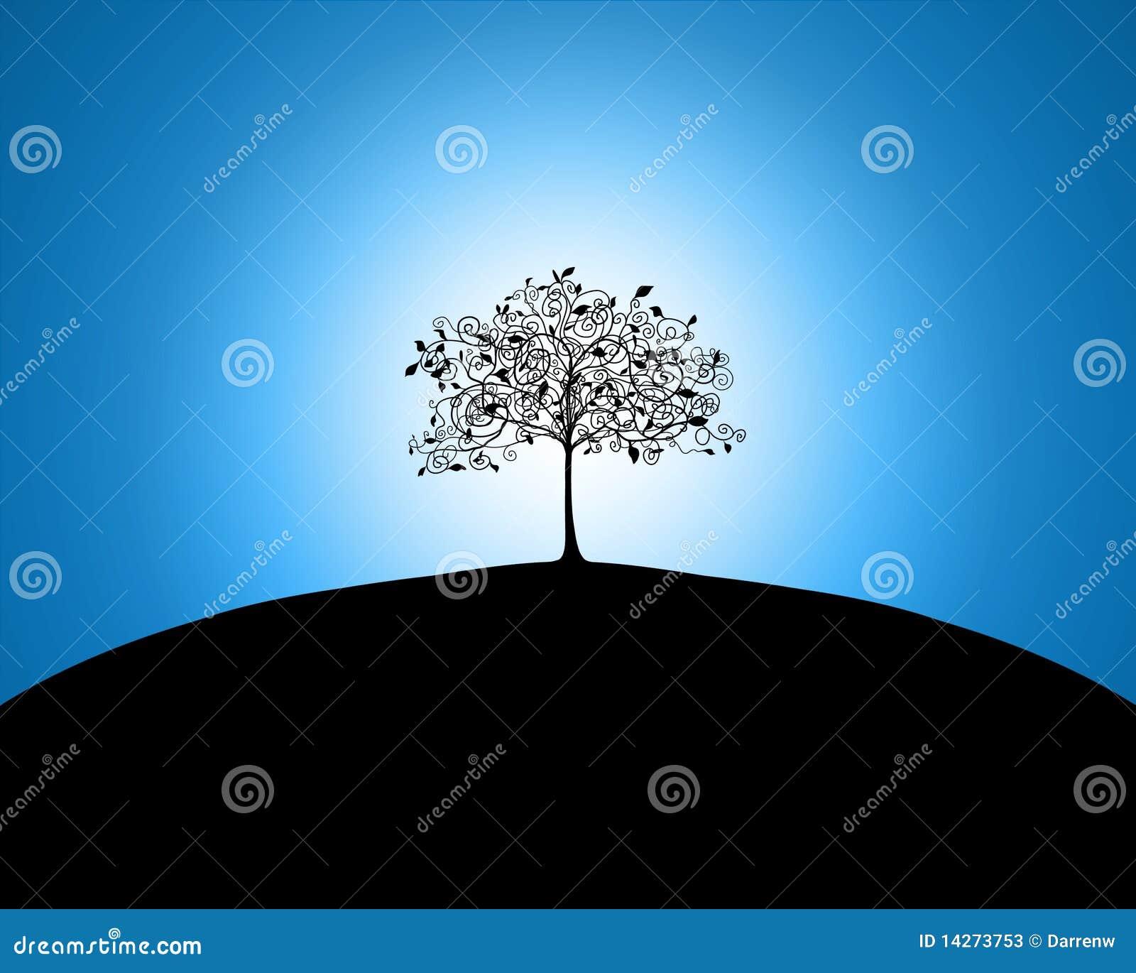 δέντρο λόφων