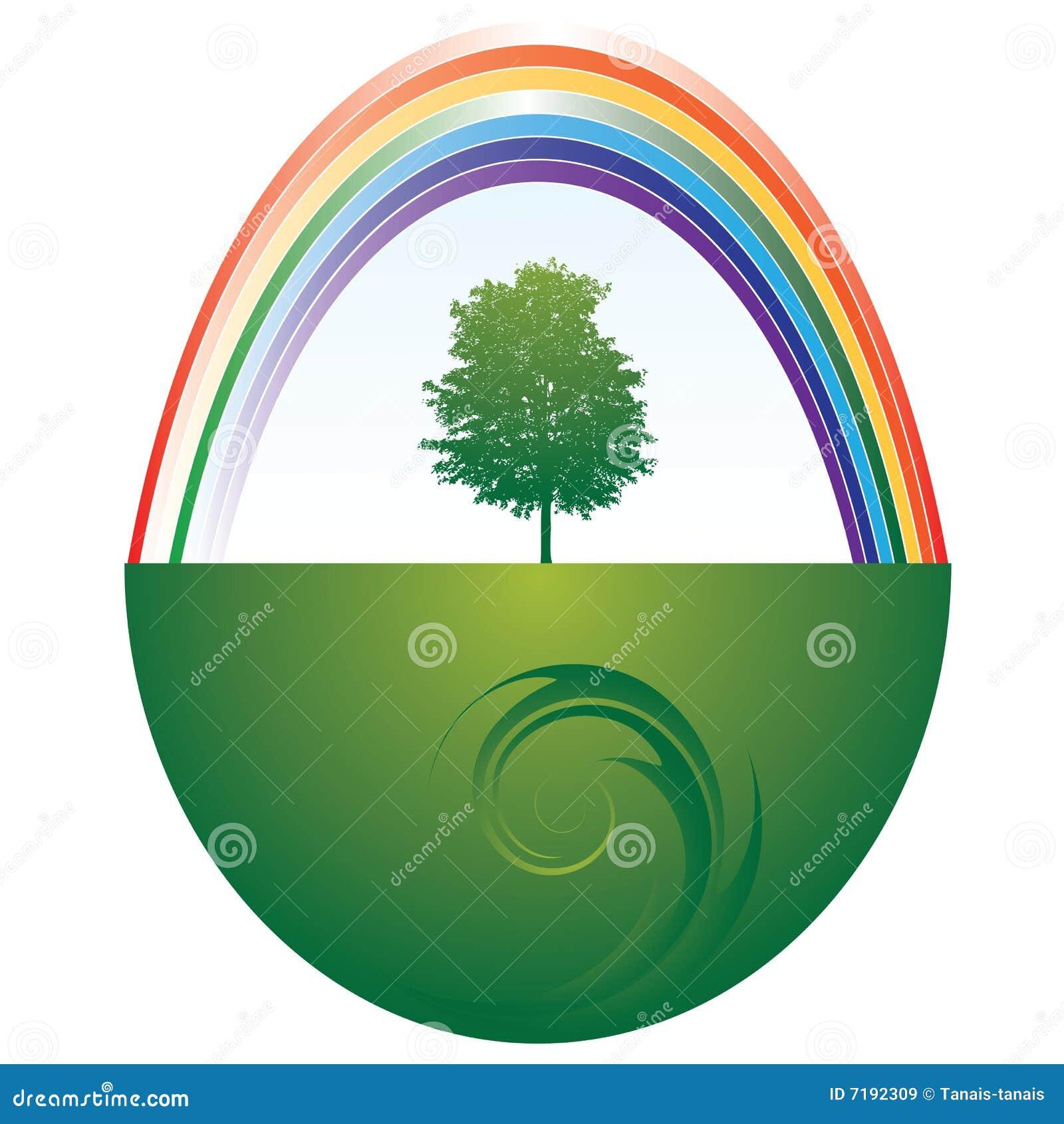 δέντρο ουράνιων τόξων