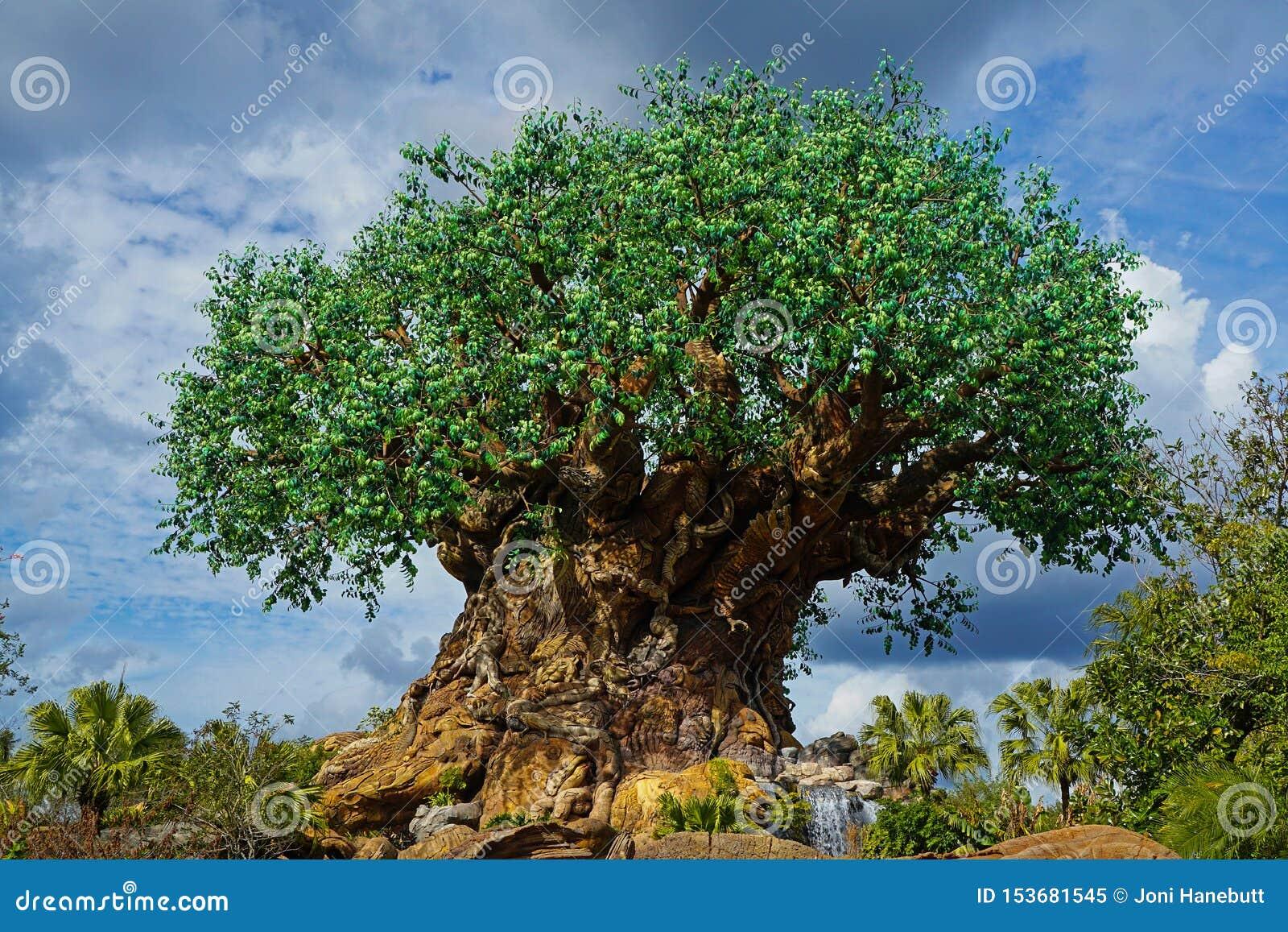 Δέντρο παγκόσμιων ζωικών βασίλειων της Disney Walt της ζωής