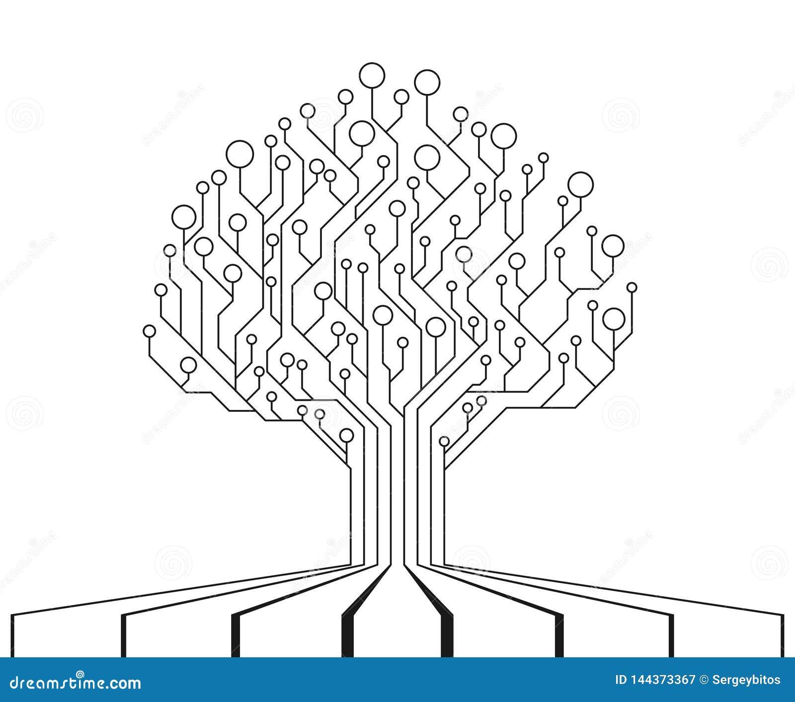 Δέντρο πινάκων κυκλωμάτων Τεχνολογία ΚΜΕ, διεπαφή μικροεπεξεργαστών