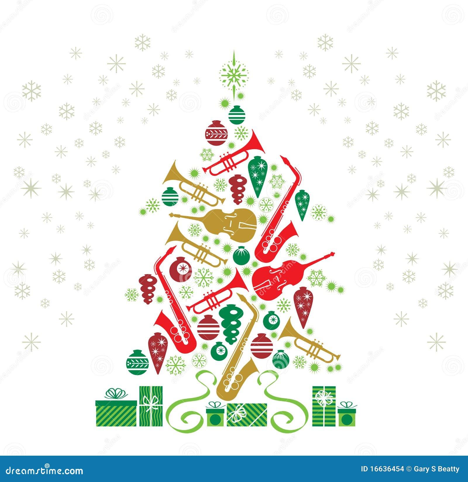 δέντρο τζαζ Χριστουγέννων