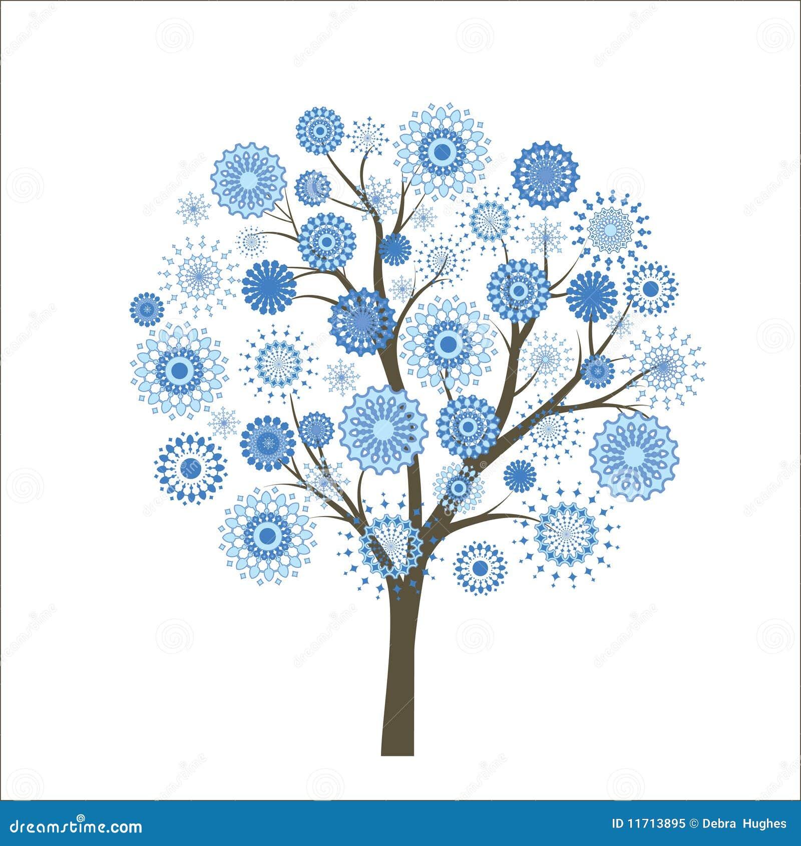 δέντρο χιονιού