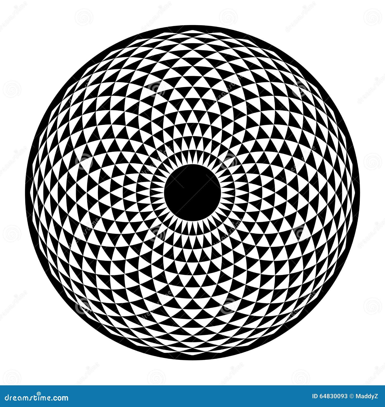 Δακτύλιο Yantra, υπνωτικό βασικό στοιχείο γεωμετρίας ματιών ιερό