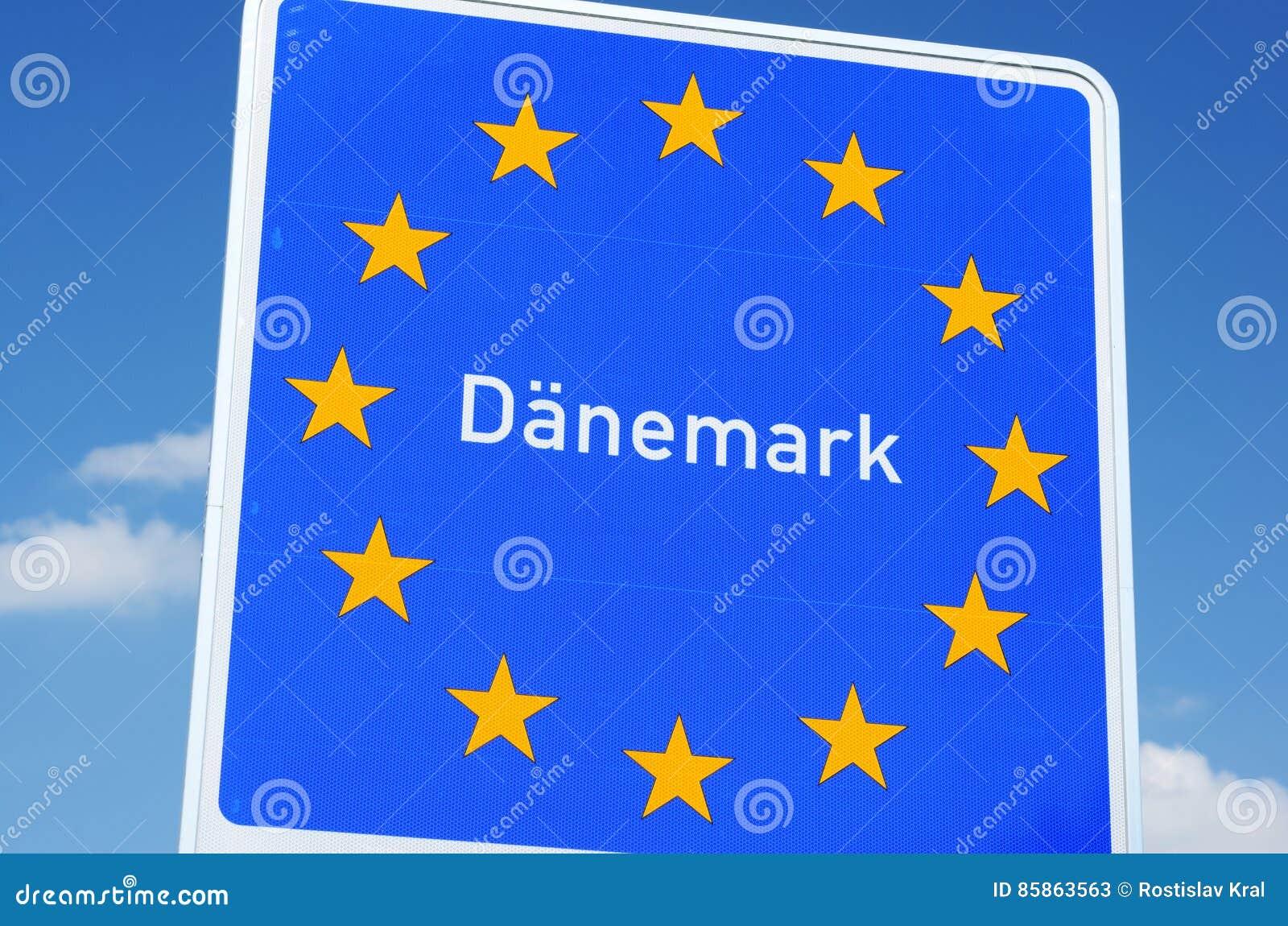 Δανικά σύνορα