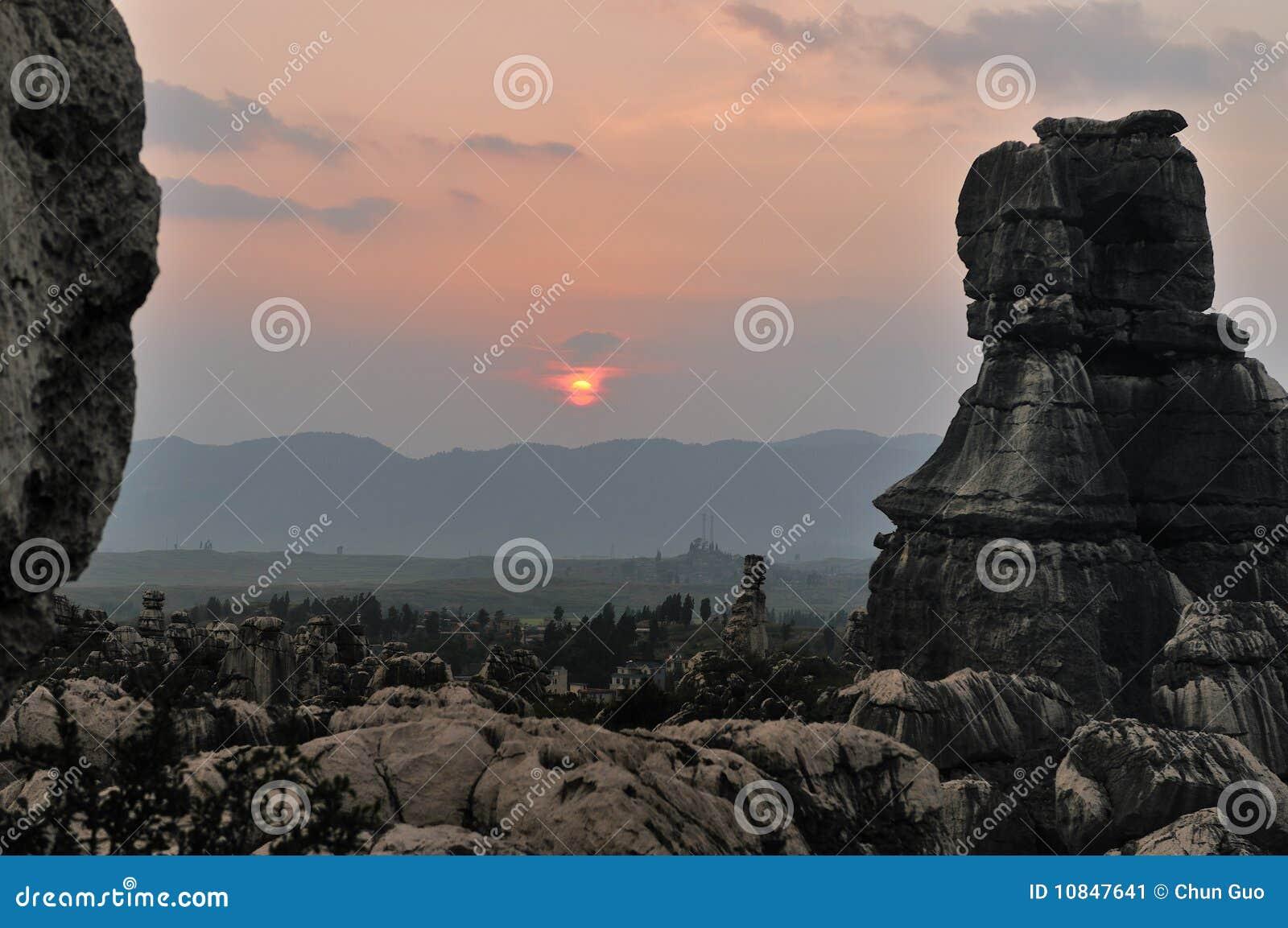 δασική πέτρα της Κίνας