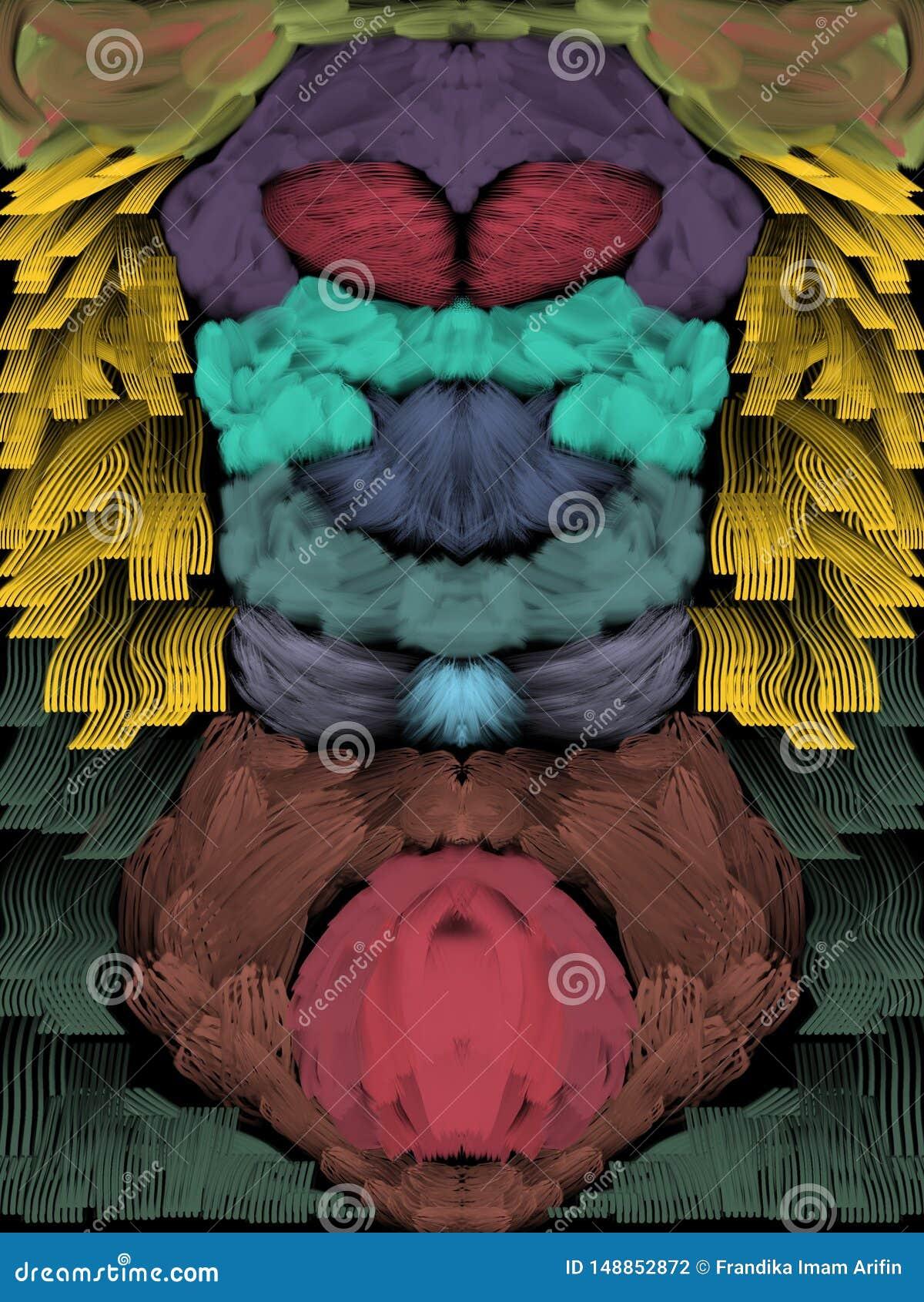 δείτε από την κορυφή ή το κατώτατο σημείο και το ζουμ σε κάθε χρώμα όλα θα είναι διαφορετικό