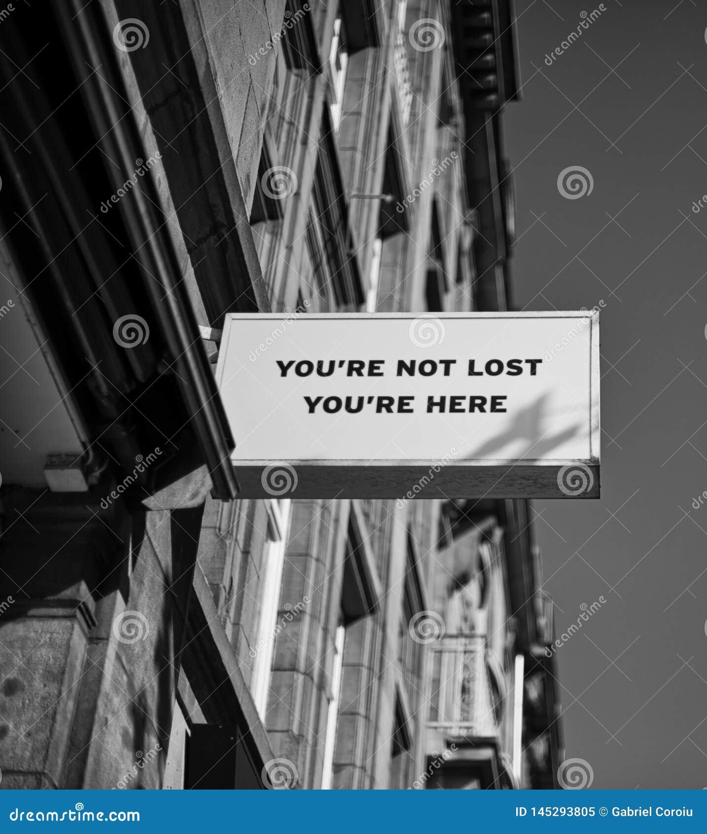 Δεν χάνεστε, είστε εδώ