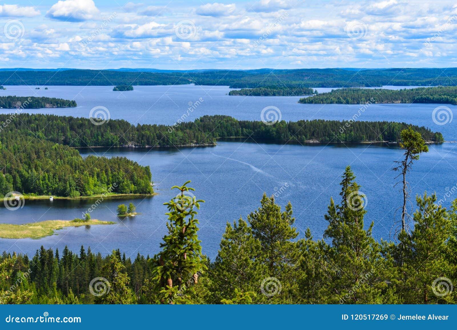 Δεύτερη μεγαλύτερη λίμνη στη Φινλανδία
