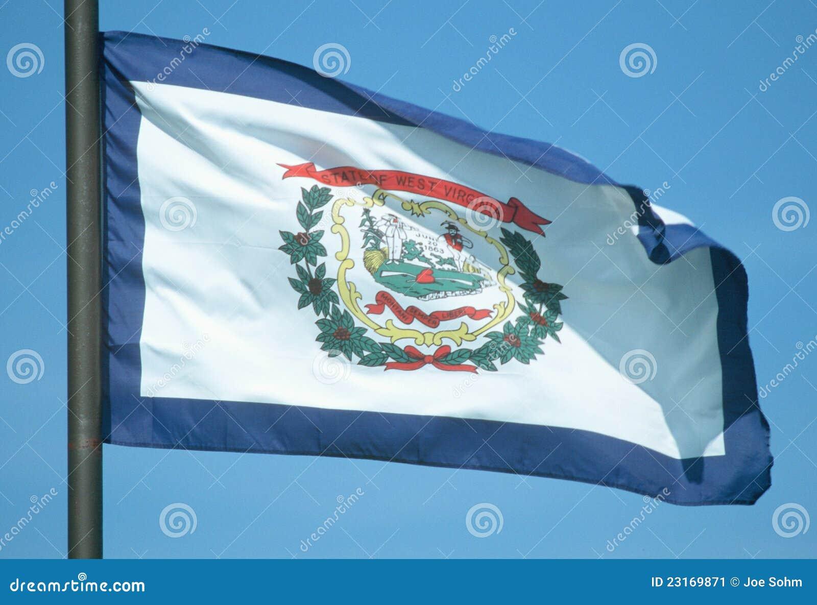 Δηλώστε τη σημαία της δυτικής Βιρτζίνια
