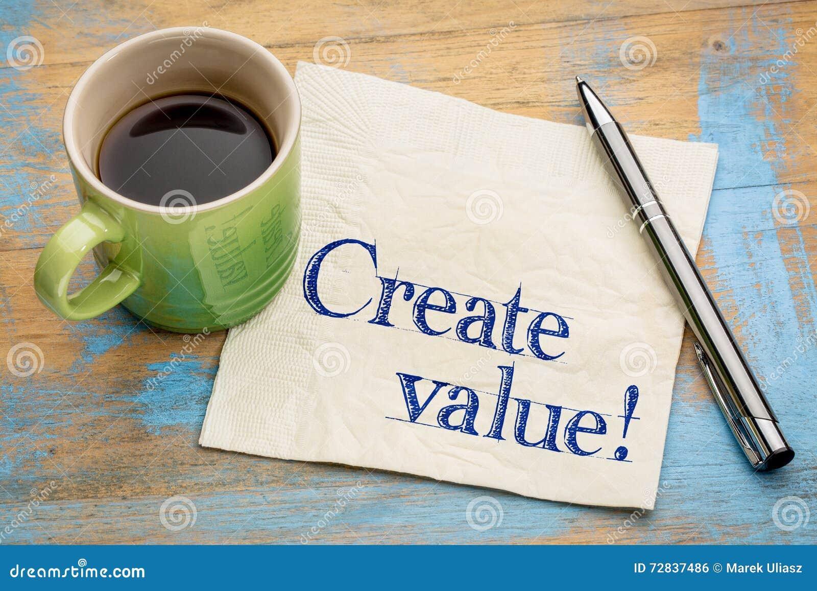 Δημιουργήστε την υπενθύμιση αξίας στην πετσέτα