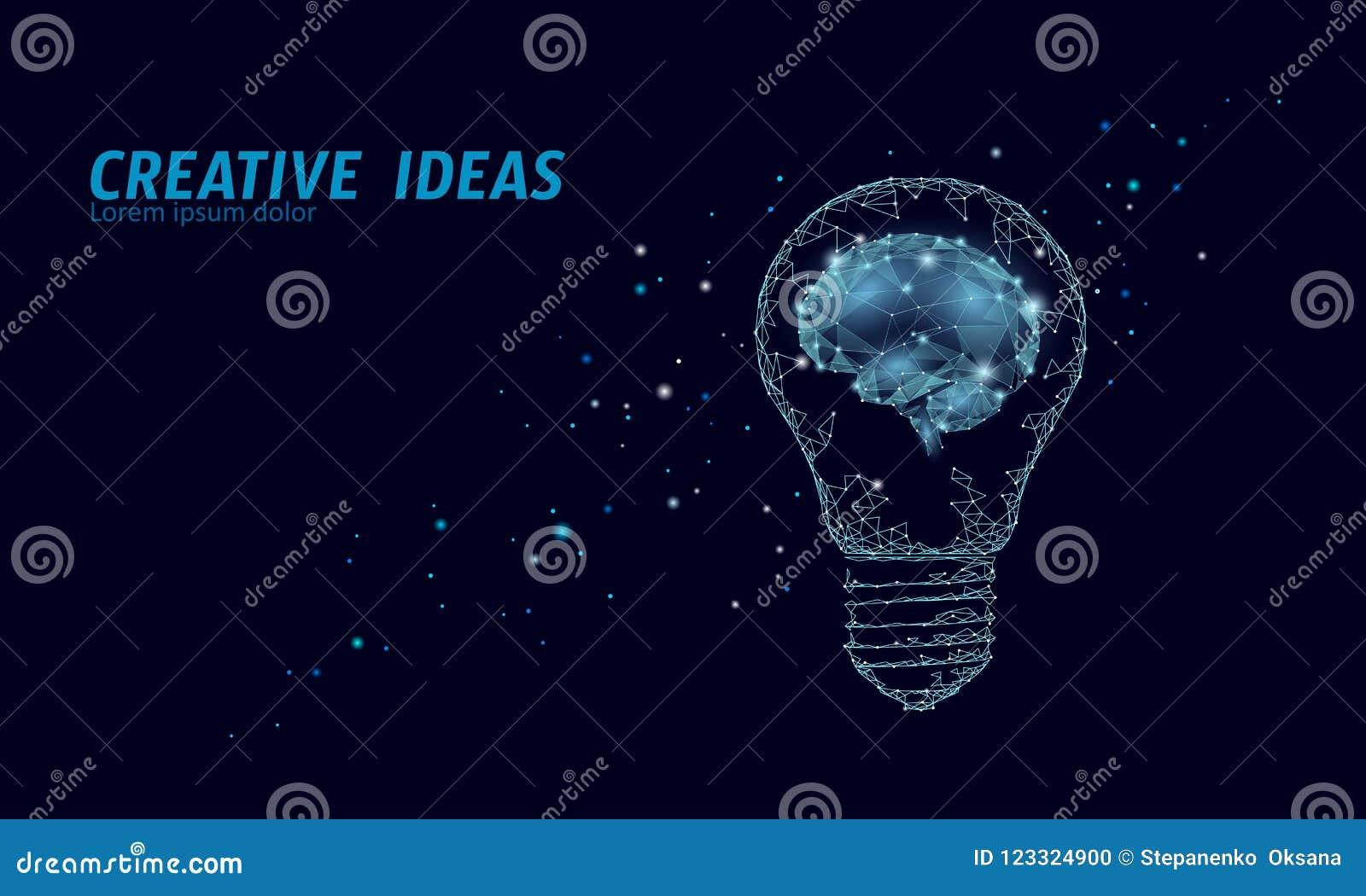 Δημιουργικός ουρανός αστεριών νύχτας λαμπών φωτός ιδέας Χαμηλός πολυ polygonal σκούρο μπλε διαστημικός σύγχρονος γεωμετρικός ξεκι