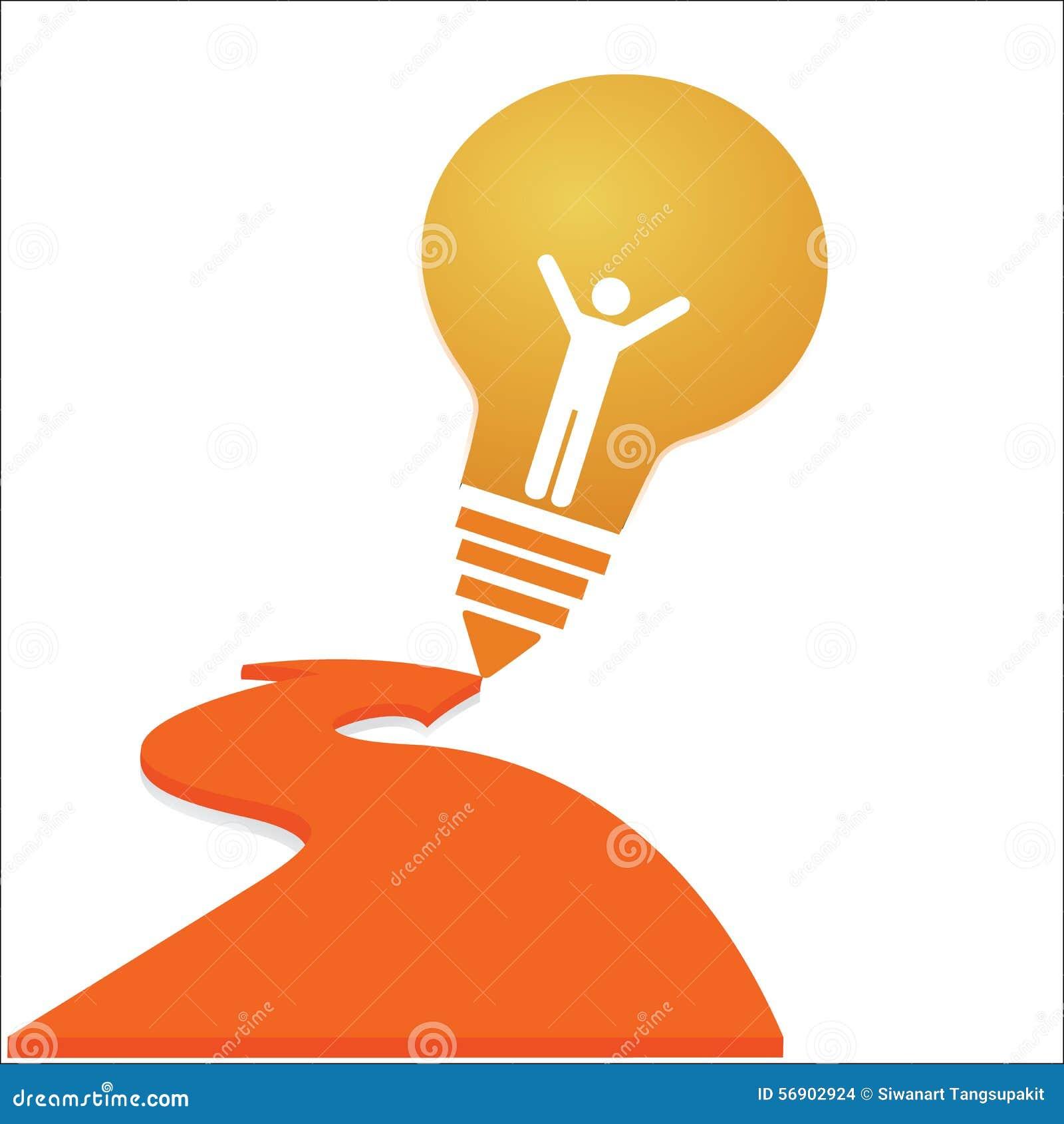 Δημιουργικό σχέδιο υποβάθρου έννοιας ιδέας επιτυχίας λαμπών φωτός