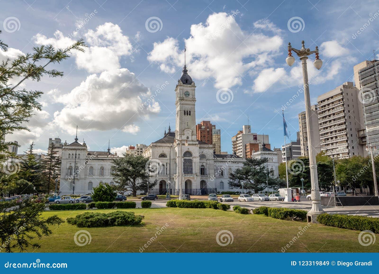 Δημοτικό παλάτι, Δημαρχείο Λα Plata - Λα Plata, επαρχία του Μπουένος Άιρες, Αργεντινή