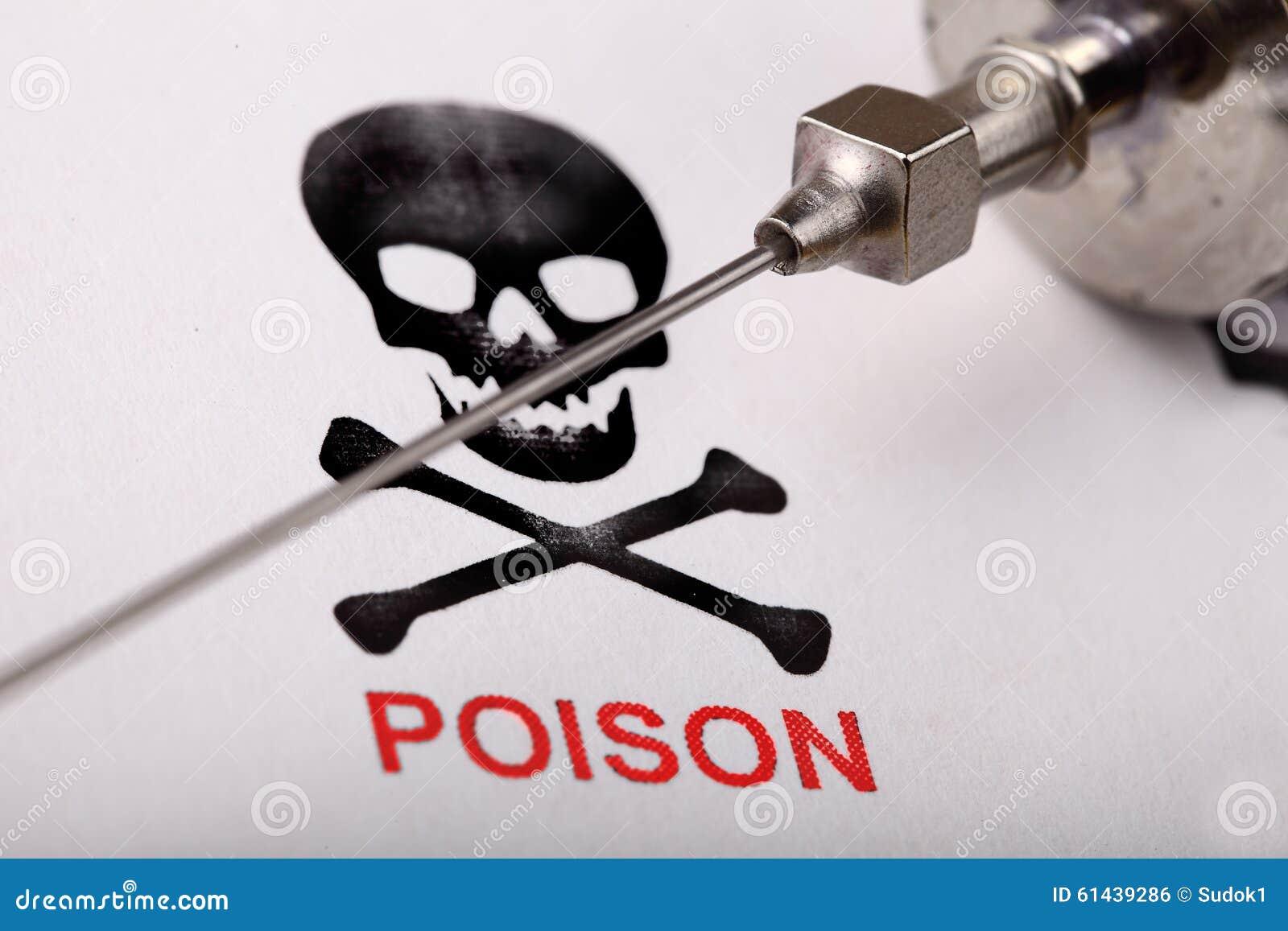 Δηλητήριο στη σύριγγα Επιστημονική έννοια εγκλήματος