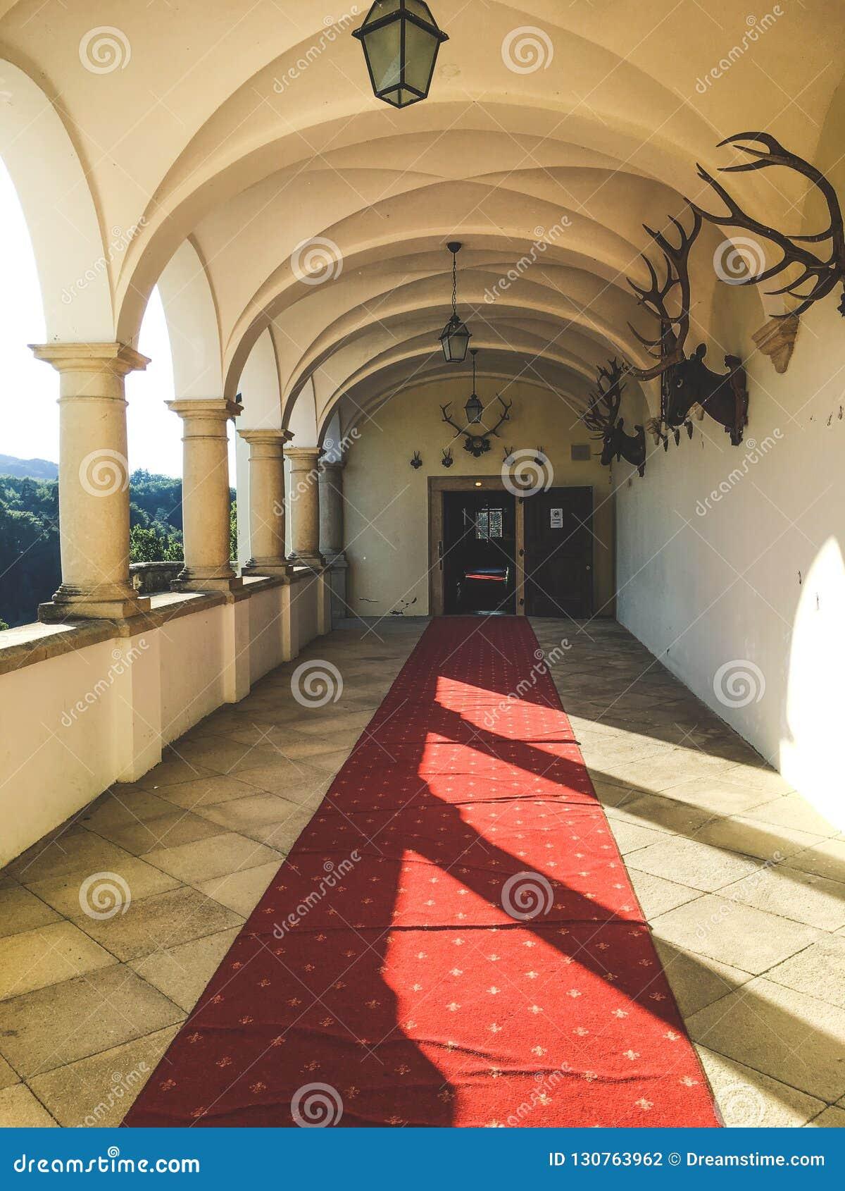 Διάδρομος του Castle - Trakoscan Castle, Κροατία