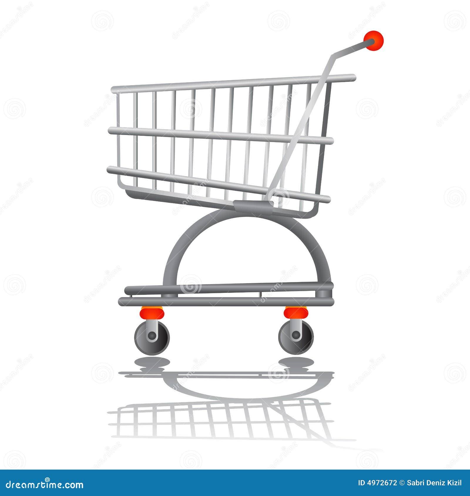 διάνυσμα αγορών διαγραμμά&t
