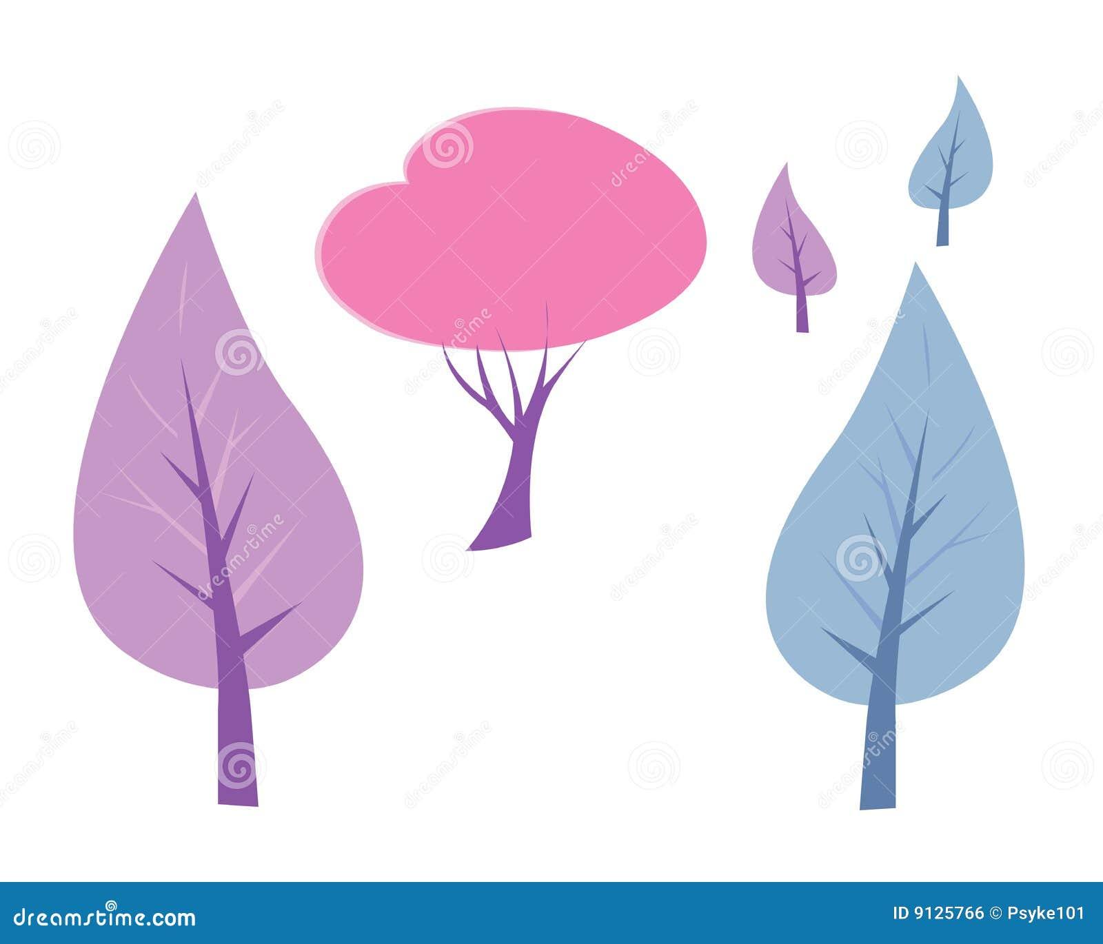 διάνυσμα δέντρων συλλογής