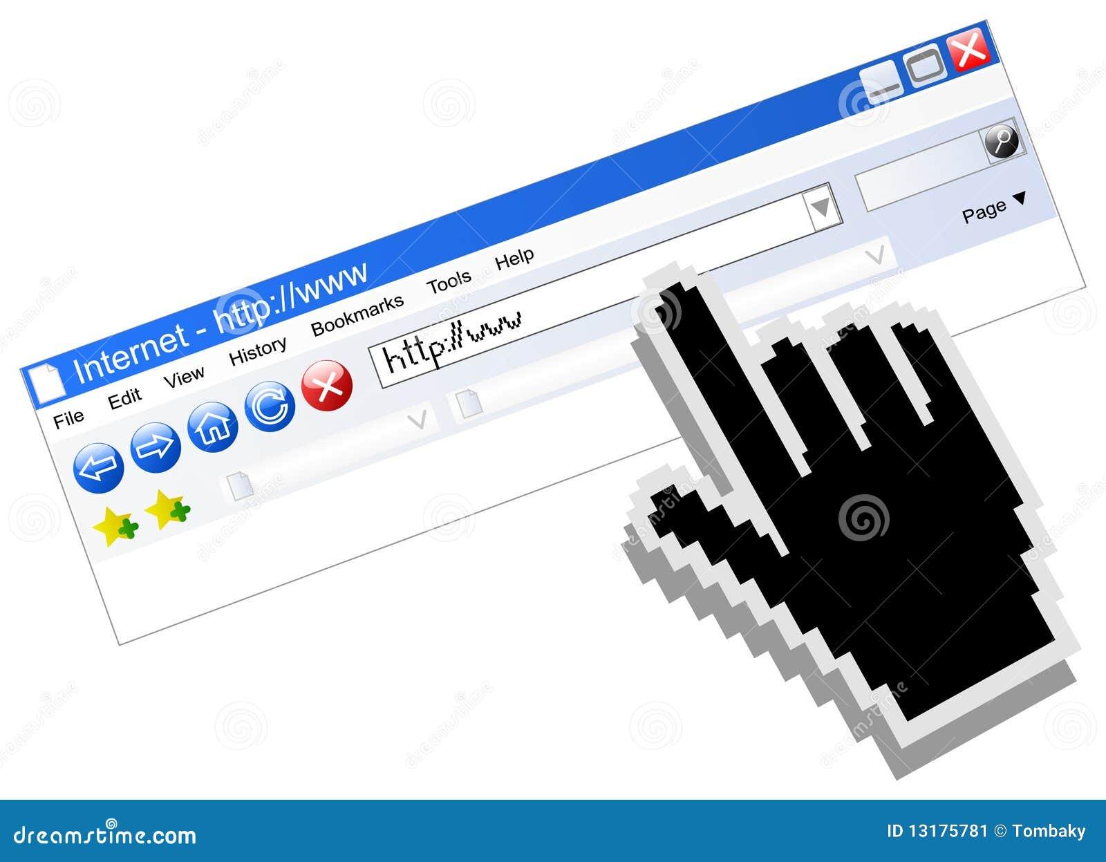 διάνυσμα Διαδικτύου ξεφ&
