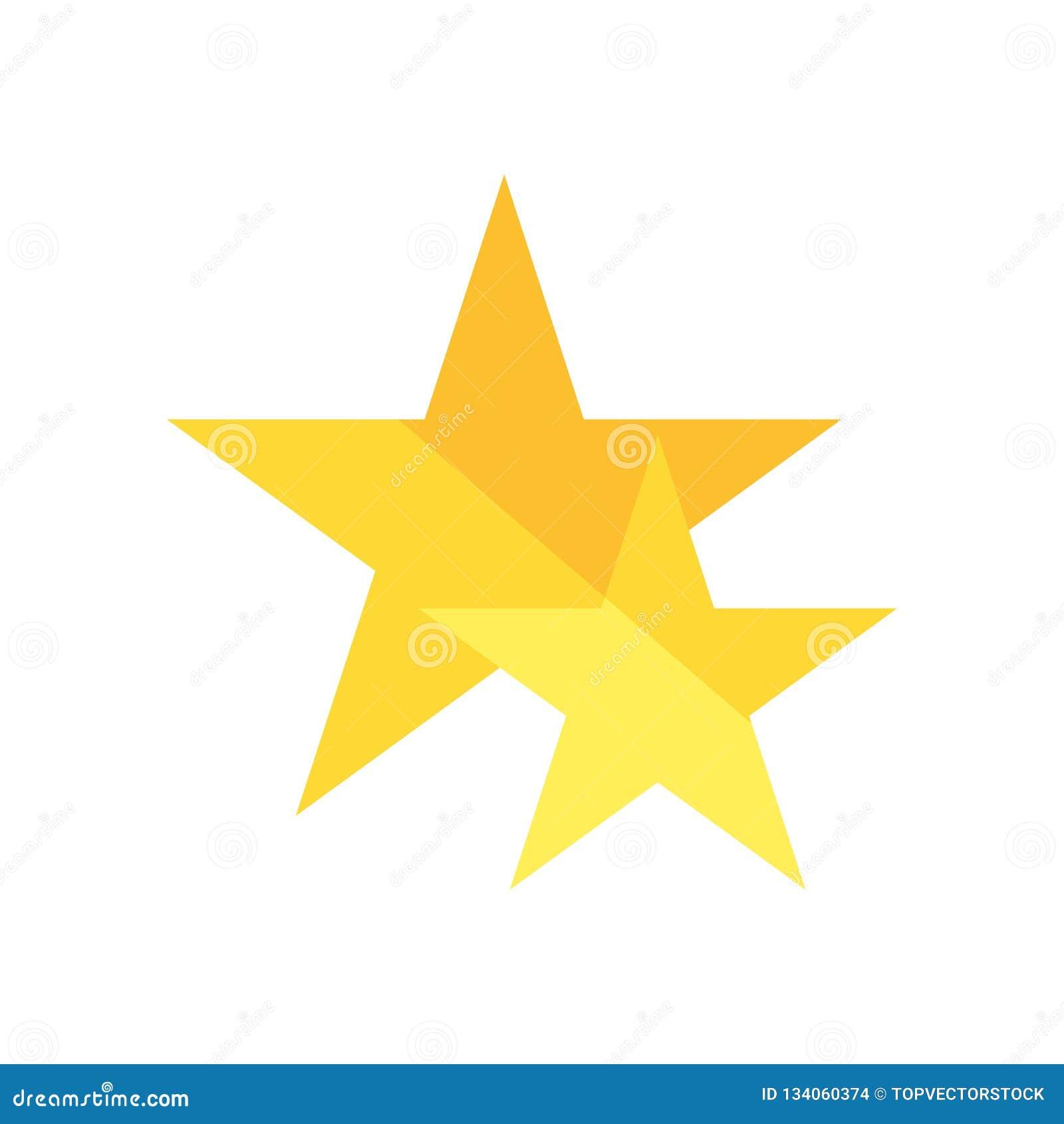 Διάνυσμα εικονιδίων αστεριών που απομονώνεται στο άσπρο υπόβαθρο, σημάδι αστεριών, σύμβολα ερώτησης
