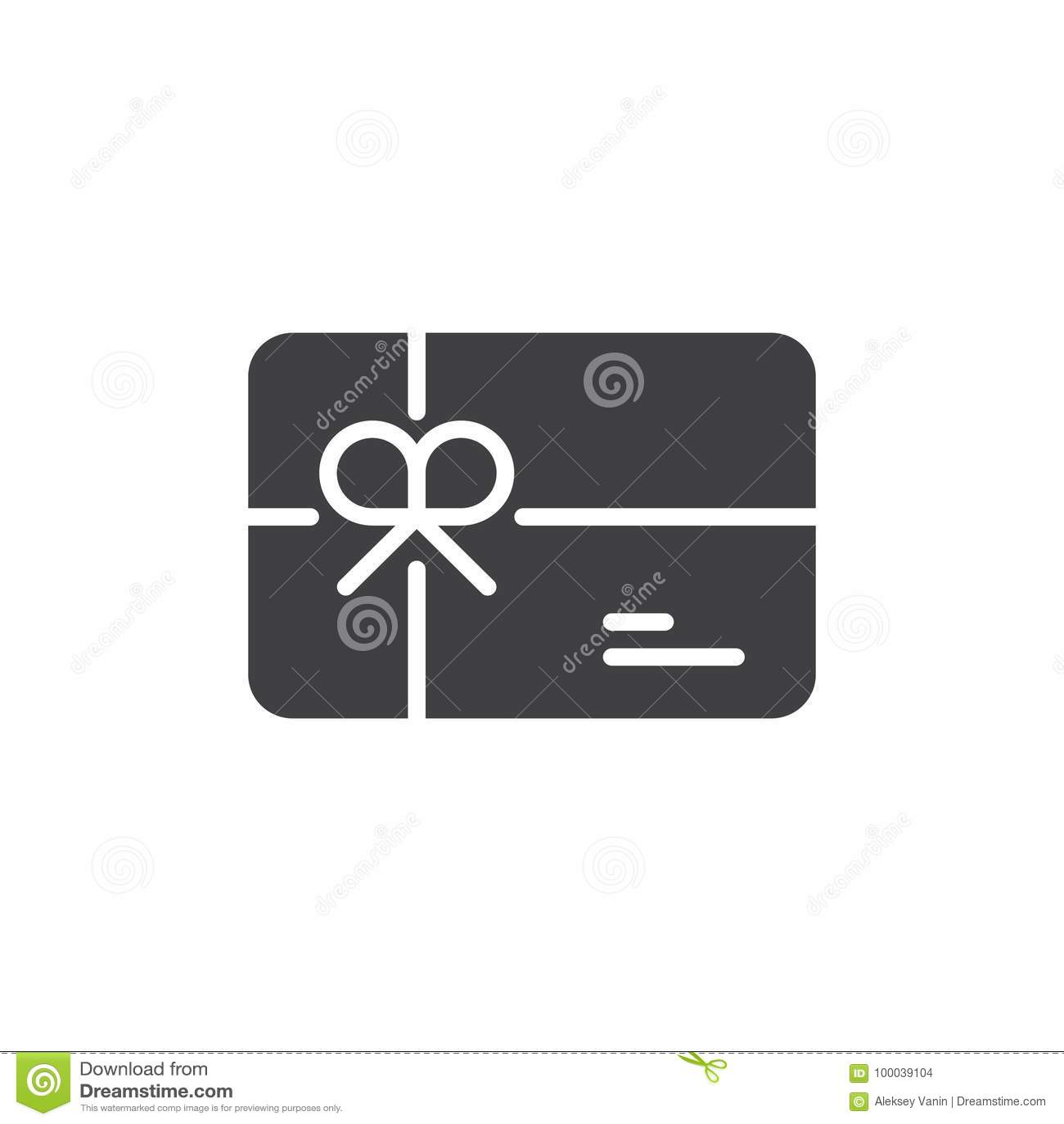 Διάνυσμα εικονιδίων καρτών δώρων
