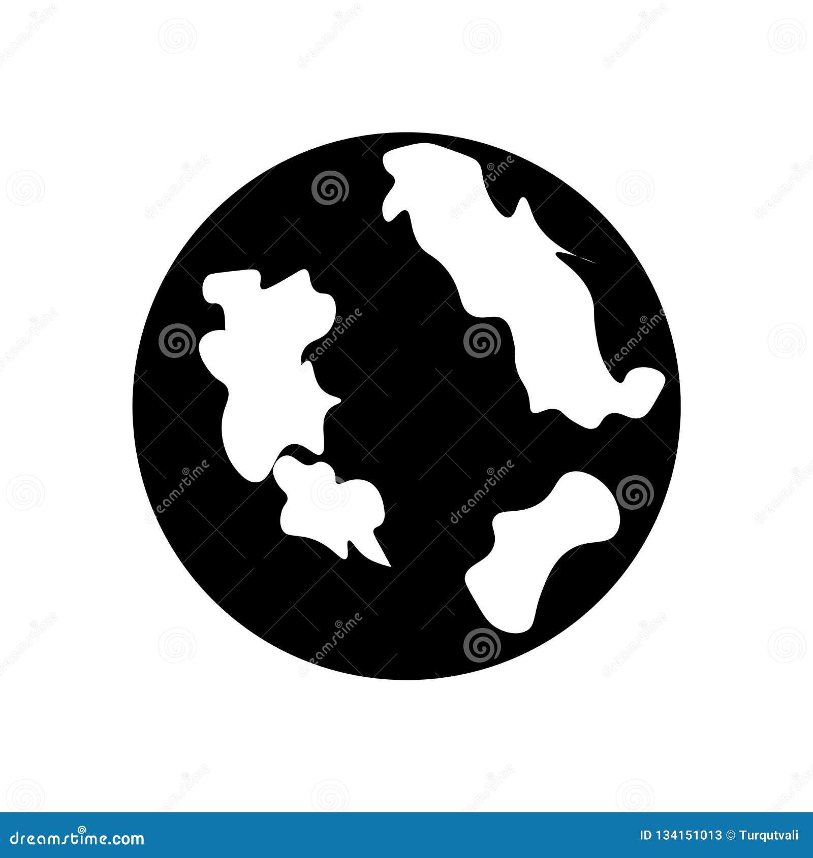 Διάνυσμα εικονιδίων σφαιρών που απομονώνεται στο άσπρο υπόβαθρο, σημάδι σφαιρών, μαύρα σύμβολα