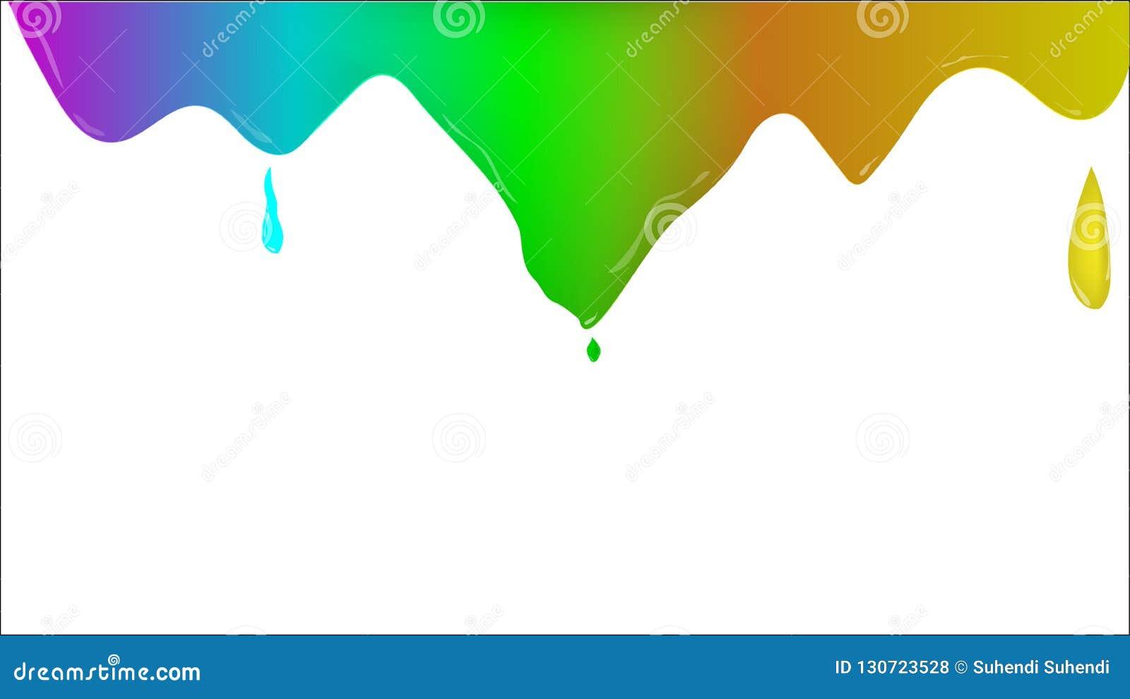 Διάνυσμα υποβάθρου επίδρασης χρωμάτων
