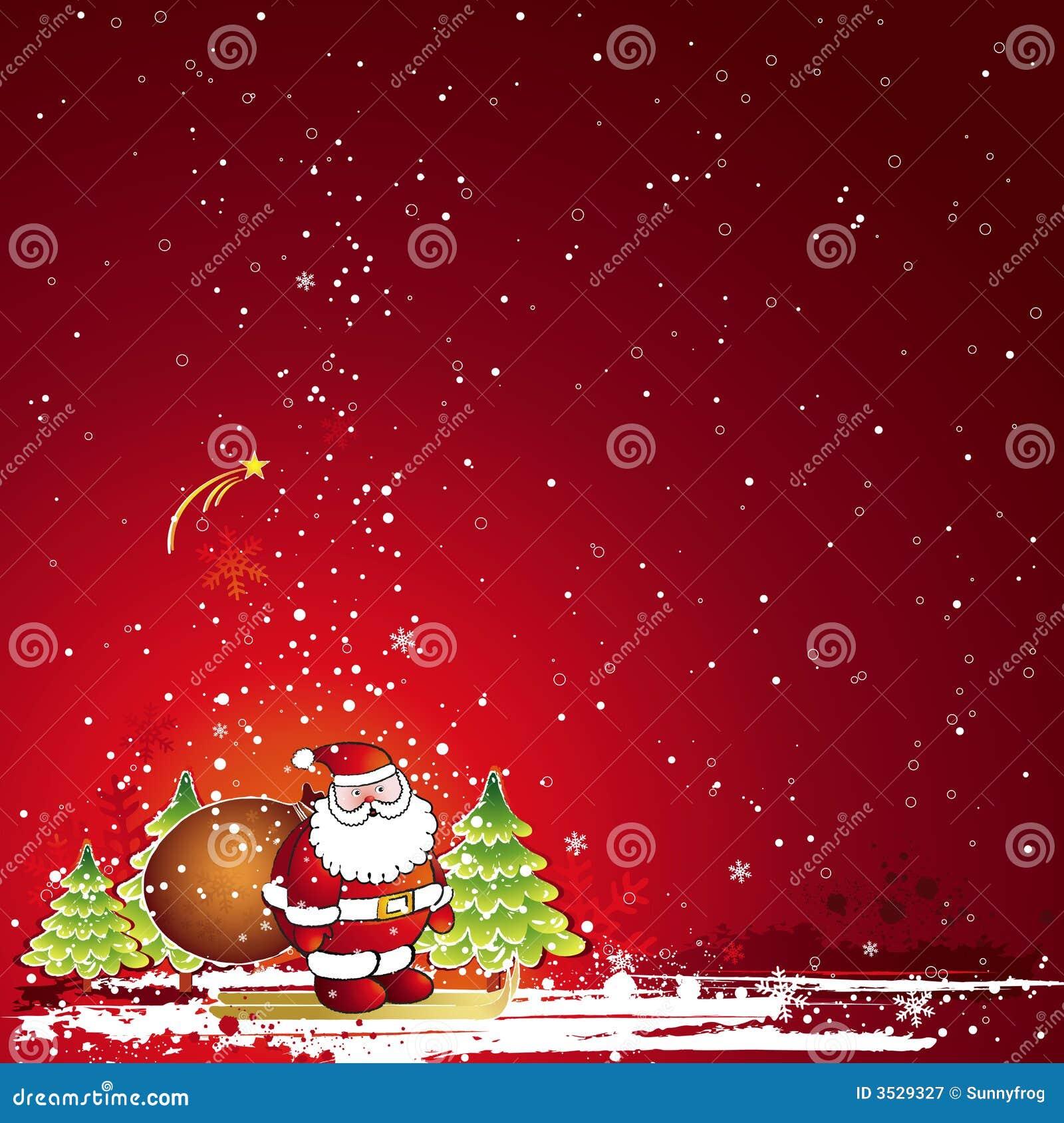 διάνυσμα Χριστουγέννων καρτών