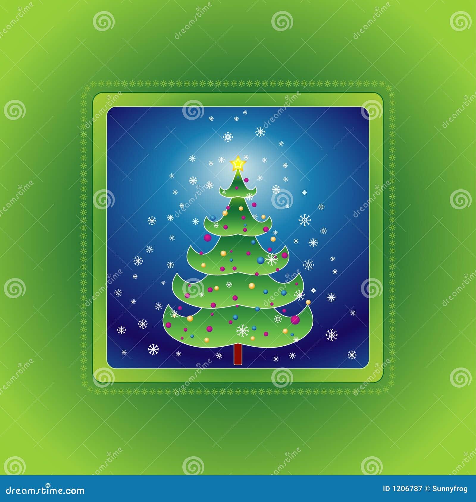 διάνυσμα χριστουγεννιάτικων δέντρων
